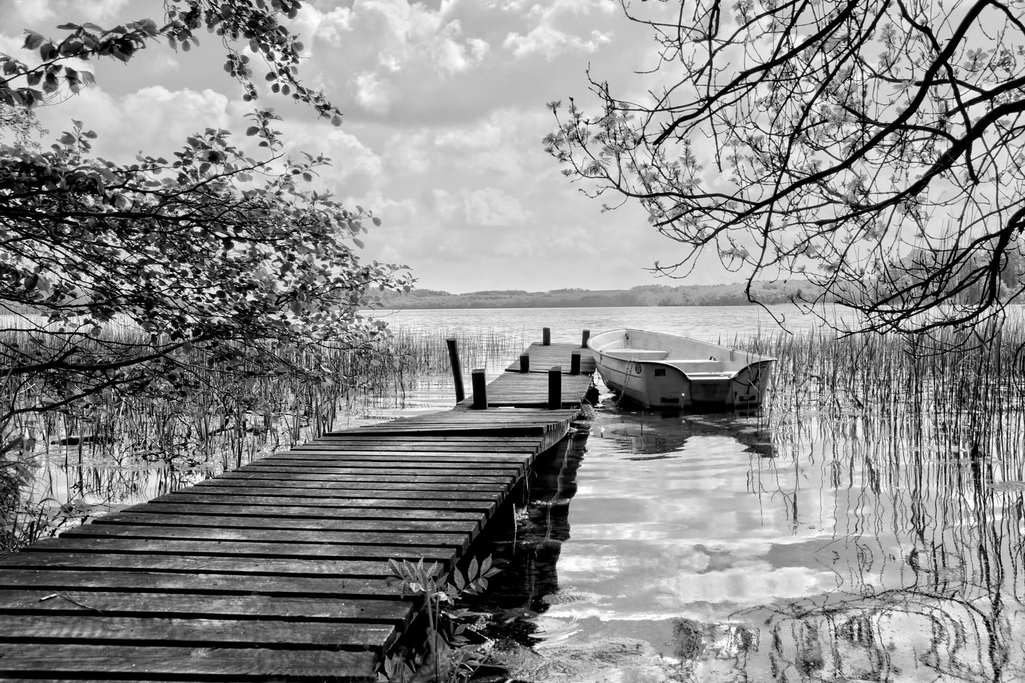 at the lake by PoulErikVistoftNielsen