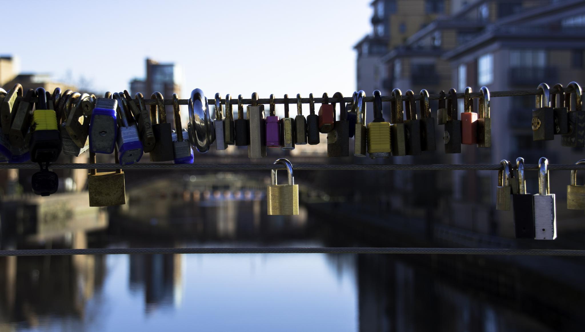 Love Locks by Neil Vary