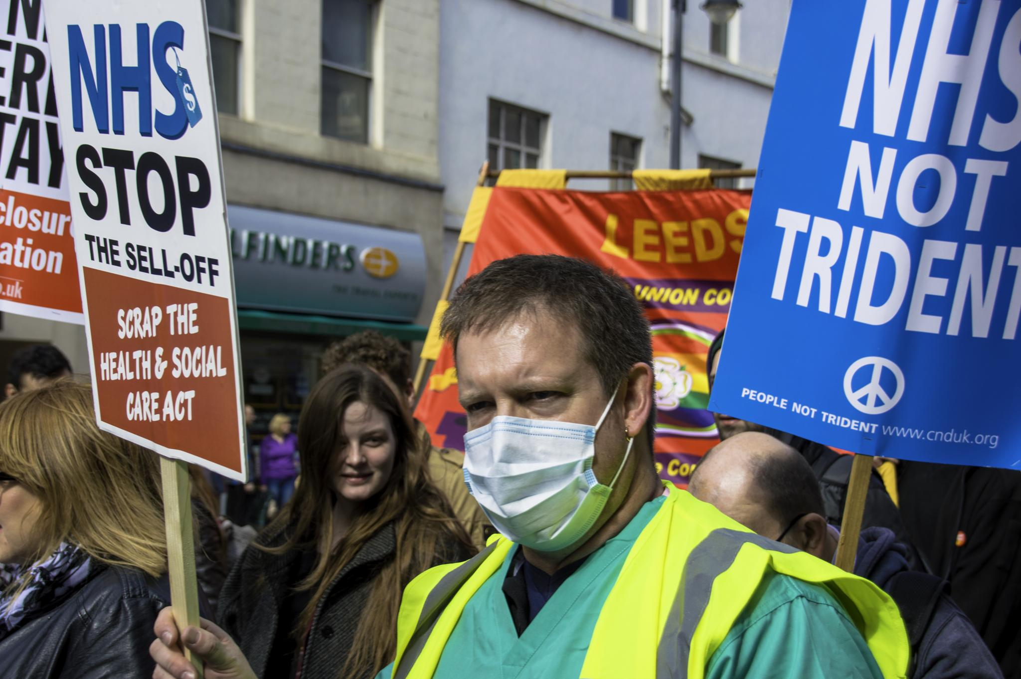 Save The NHS by Neil Vary