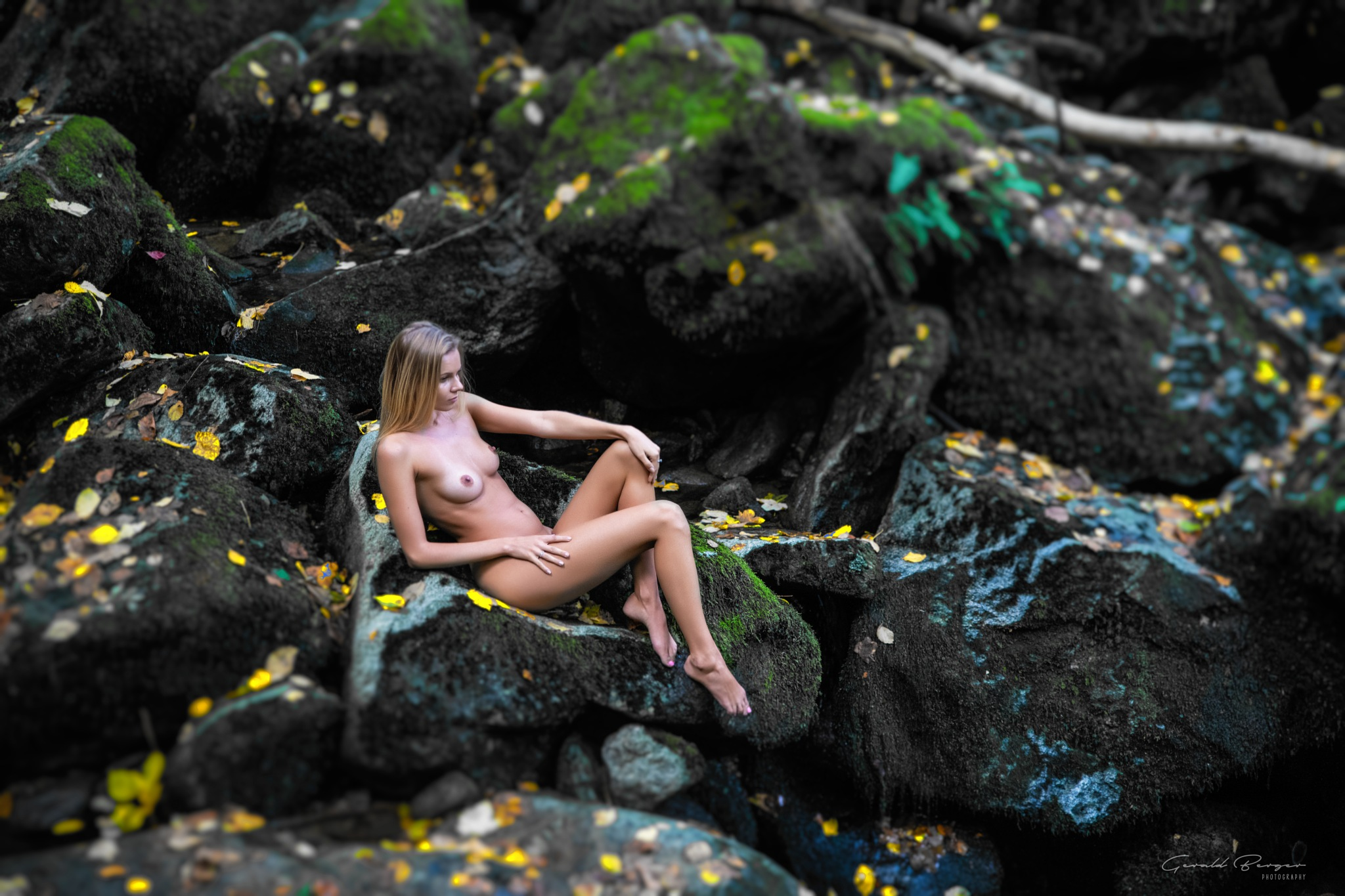 Beauty on the Rocks by Gerald Berger