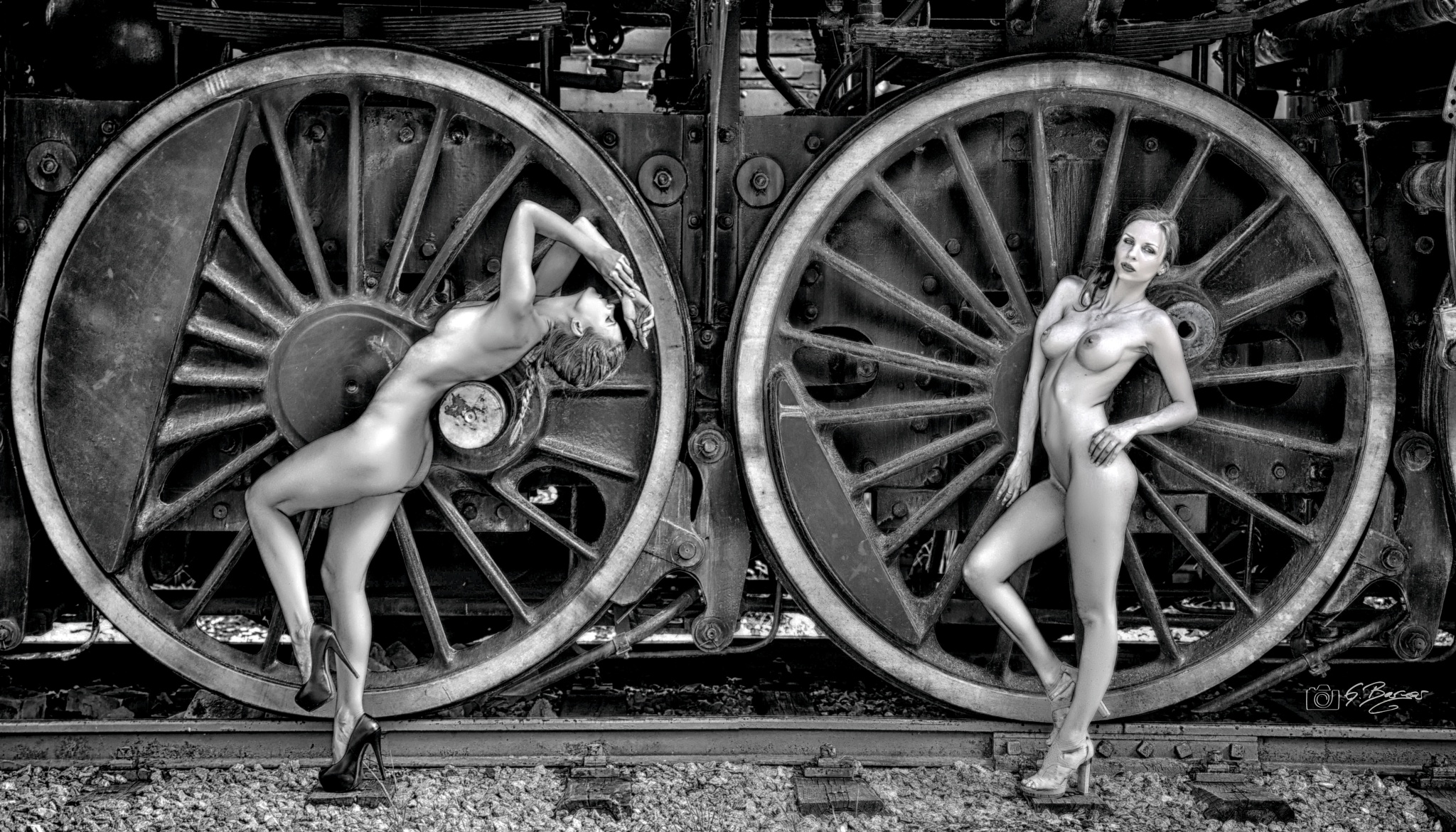 Playin with the wheels by Gerald Berger