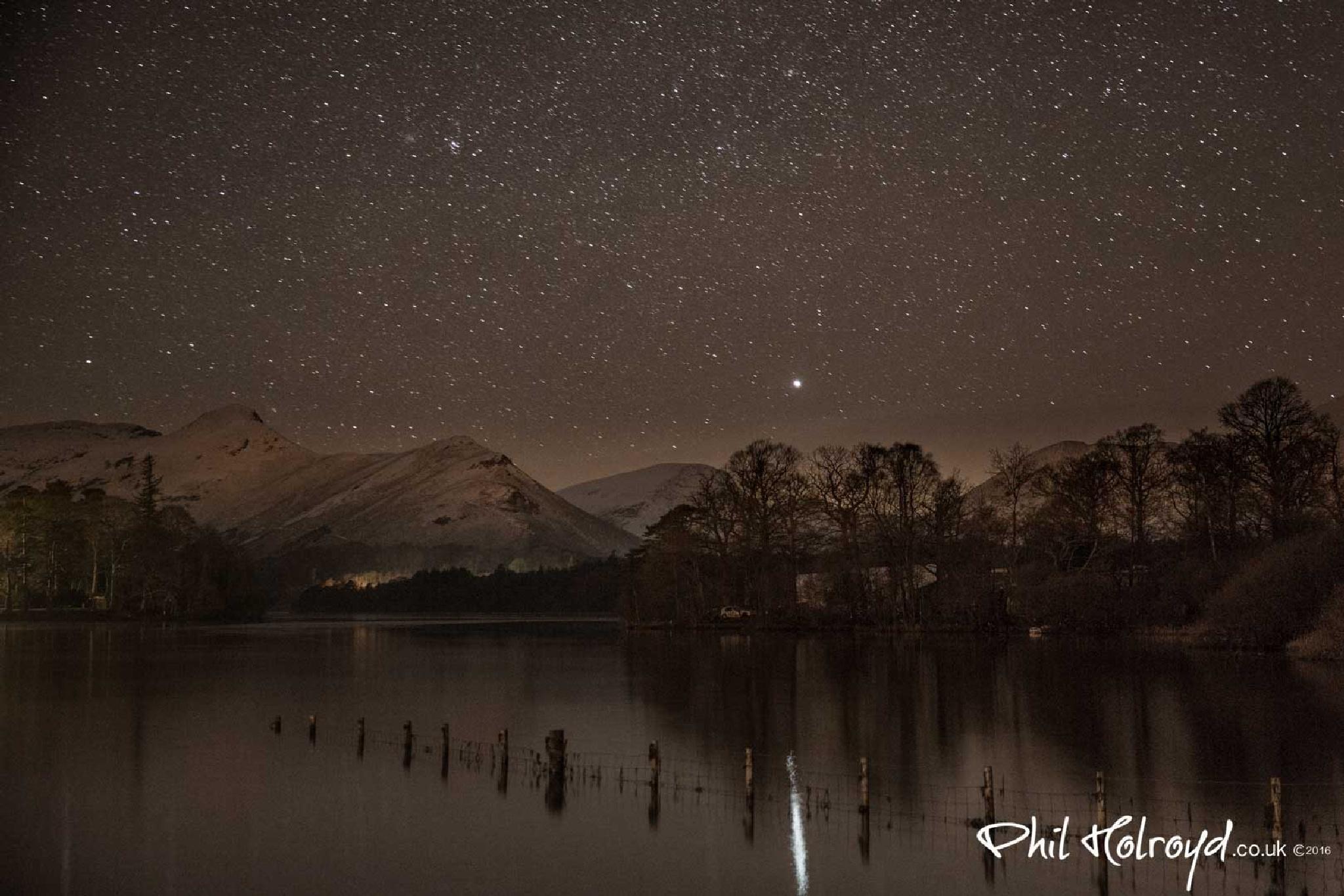 Catbells Stars by Phil