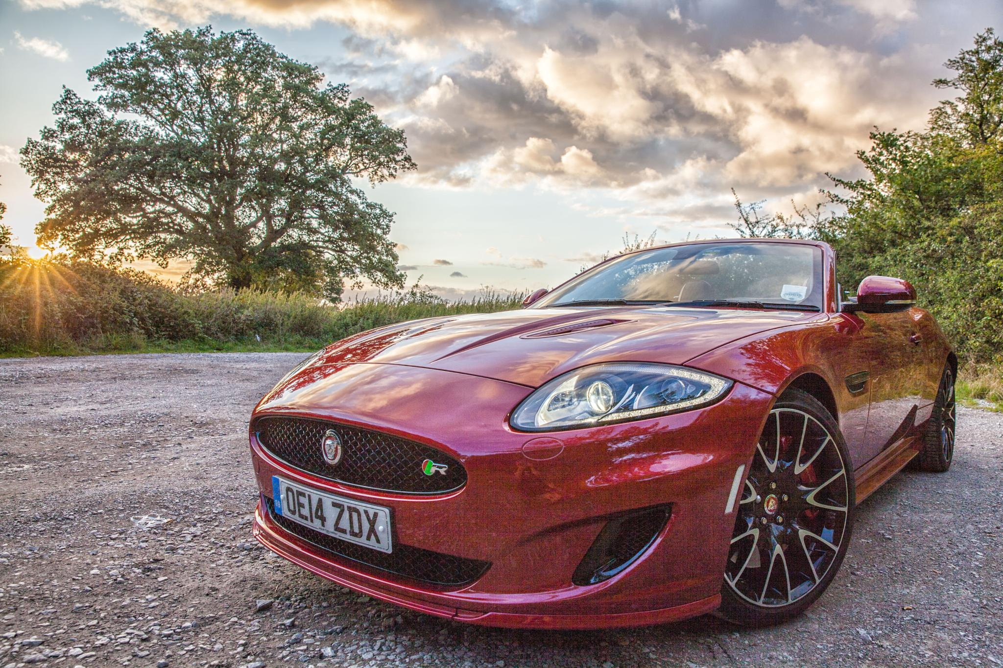 XKR sunset by Phil