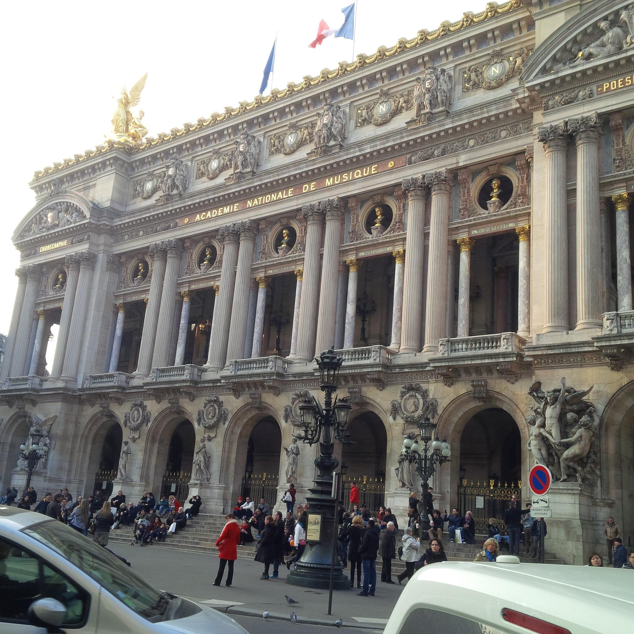 The Paris Opera by Lee Maria