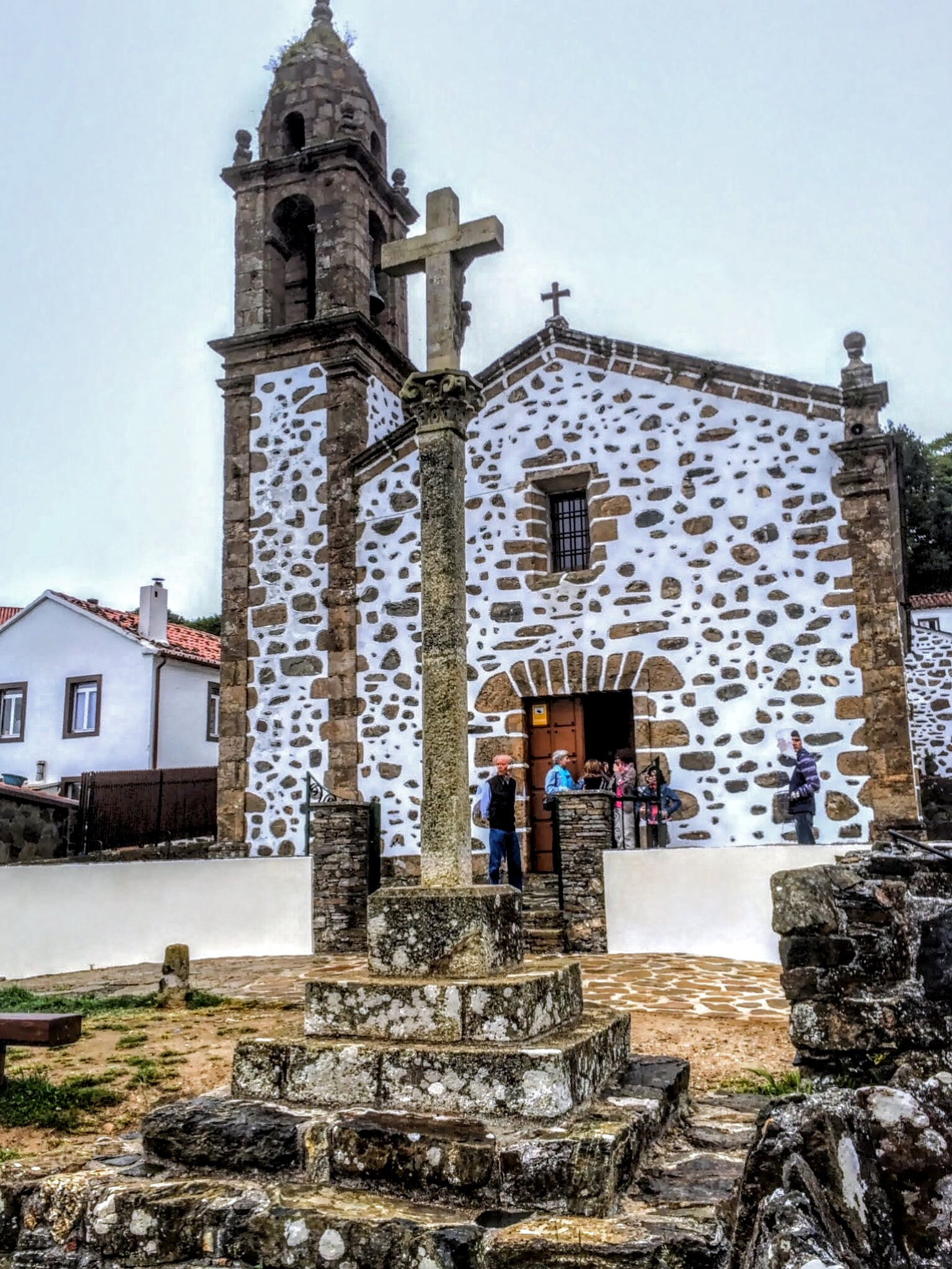 San Andrés de Teixido Church by Gregorio Emper