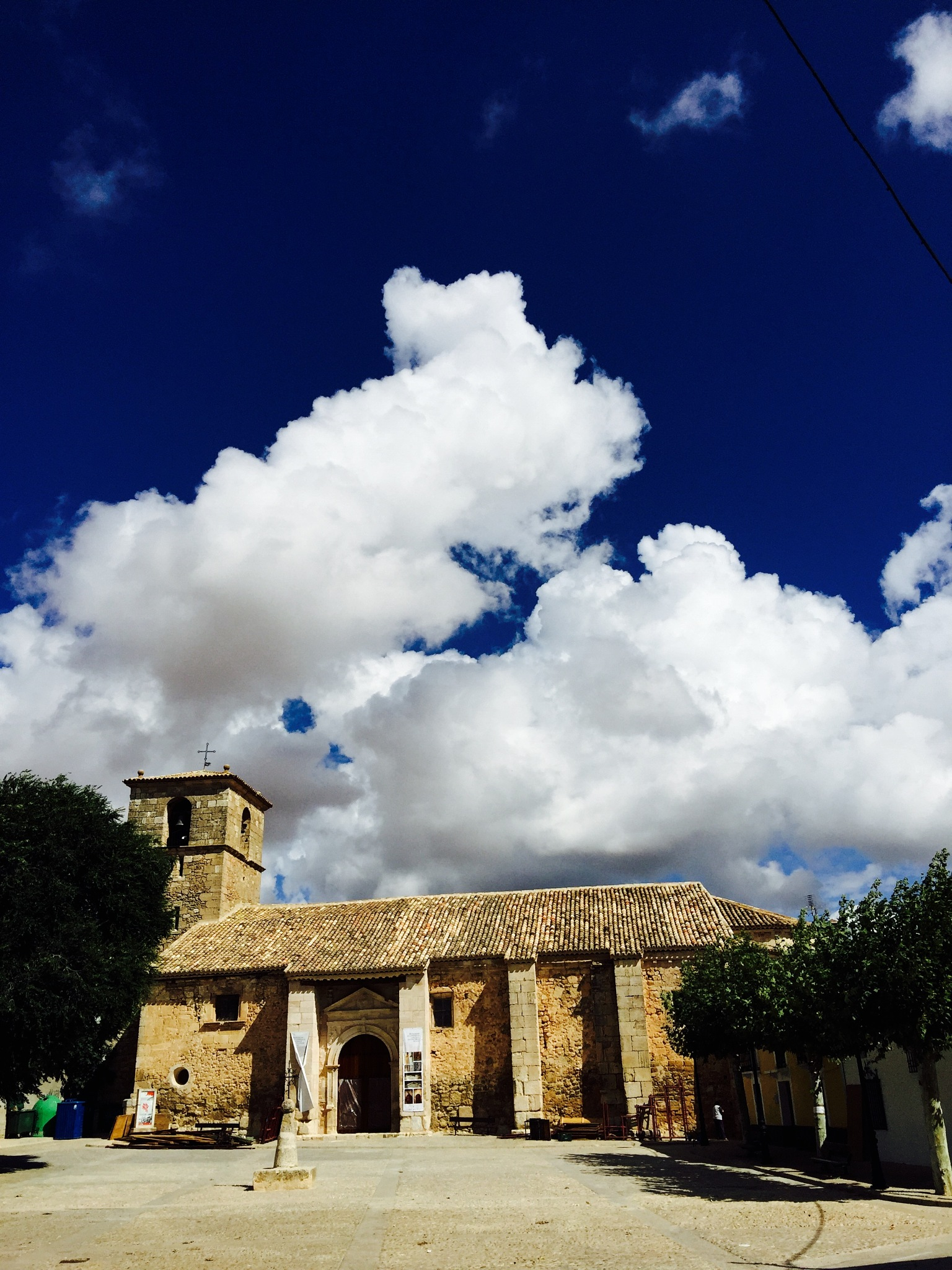 Church in the clouds by Gregorio Emper