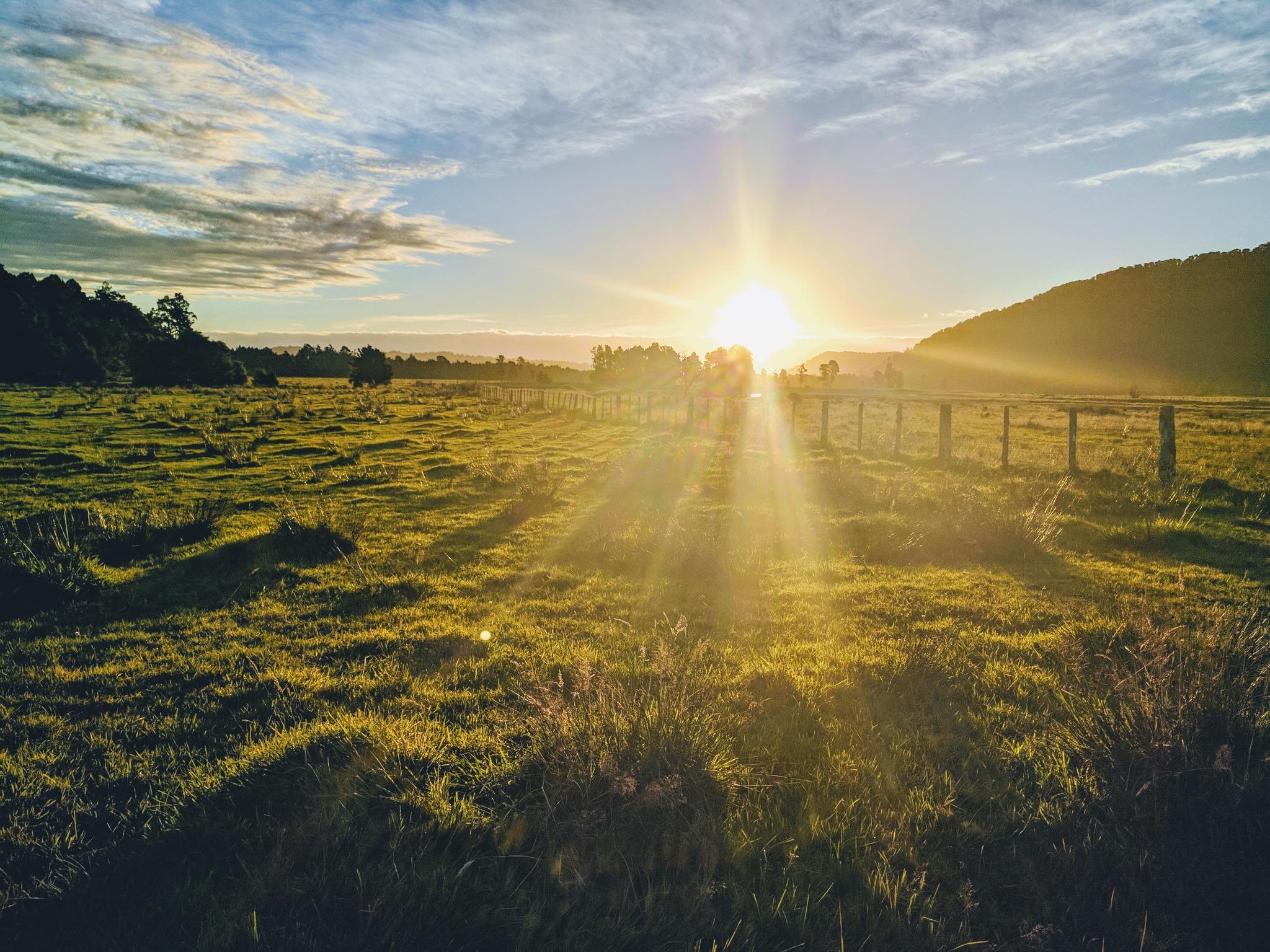 sundown @ the farm by julz