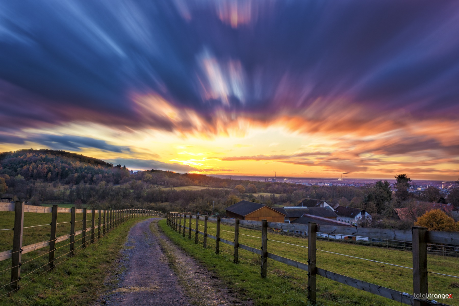 Aschaffenburg Sunset II by totalstranger