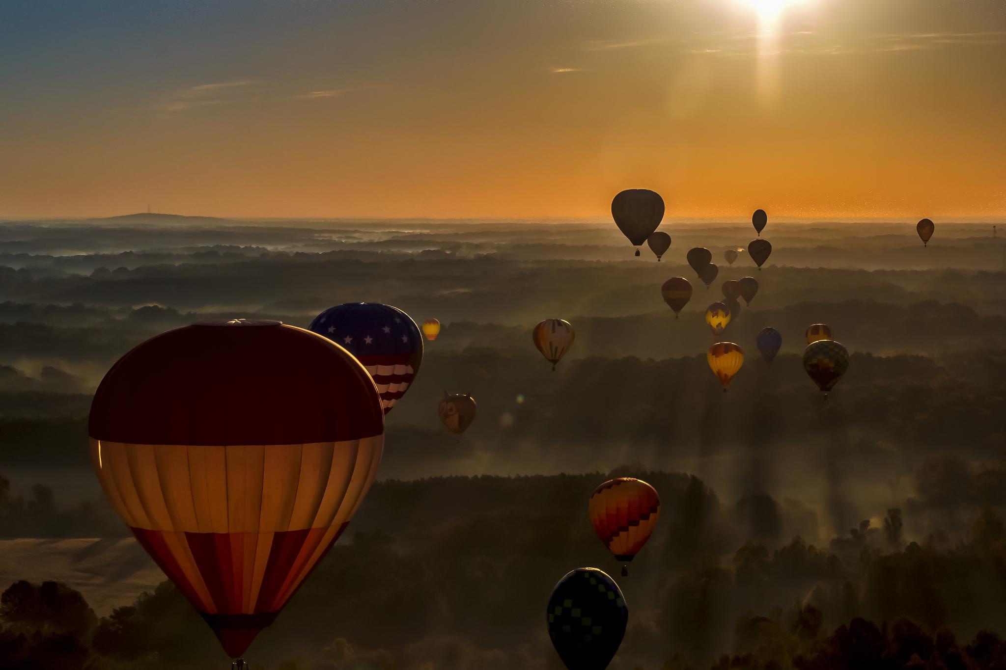 Hot Air Balloon Ride by carol.plummer