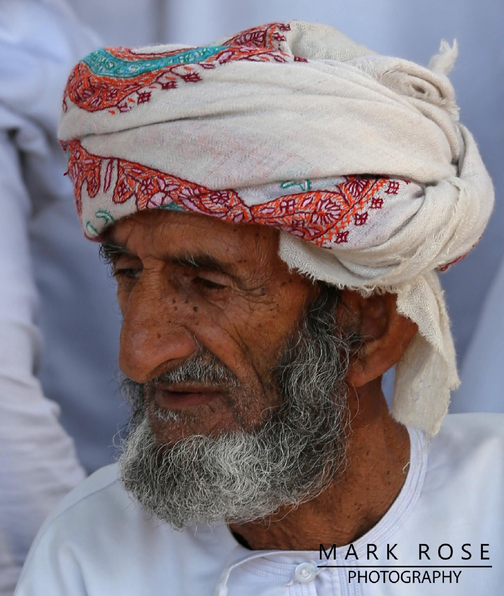Elderly Arab gentleman  by Mark Rose