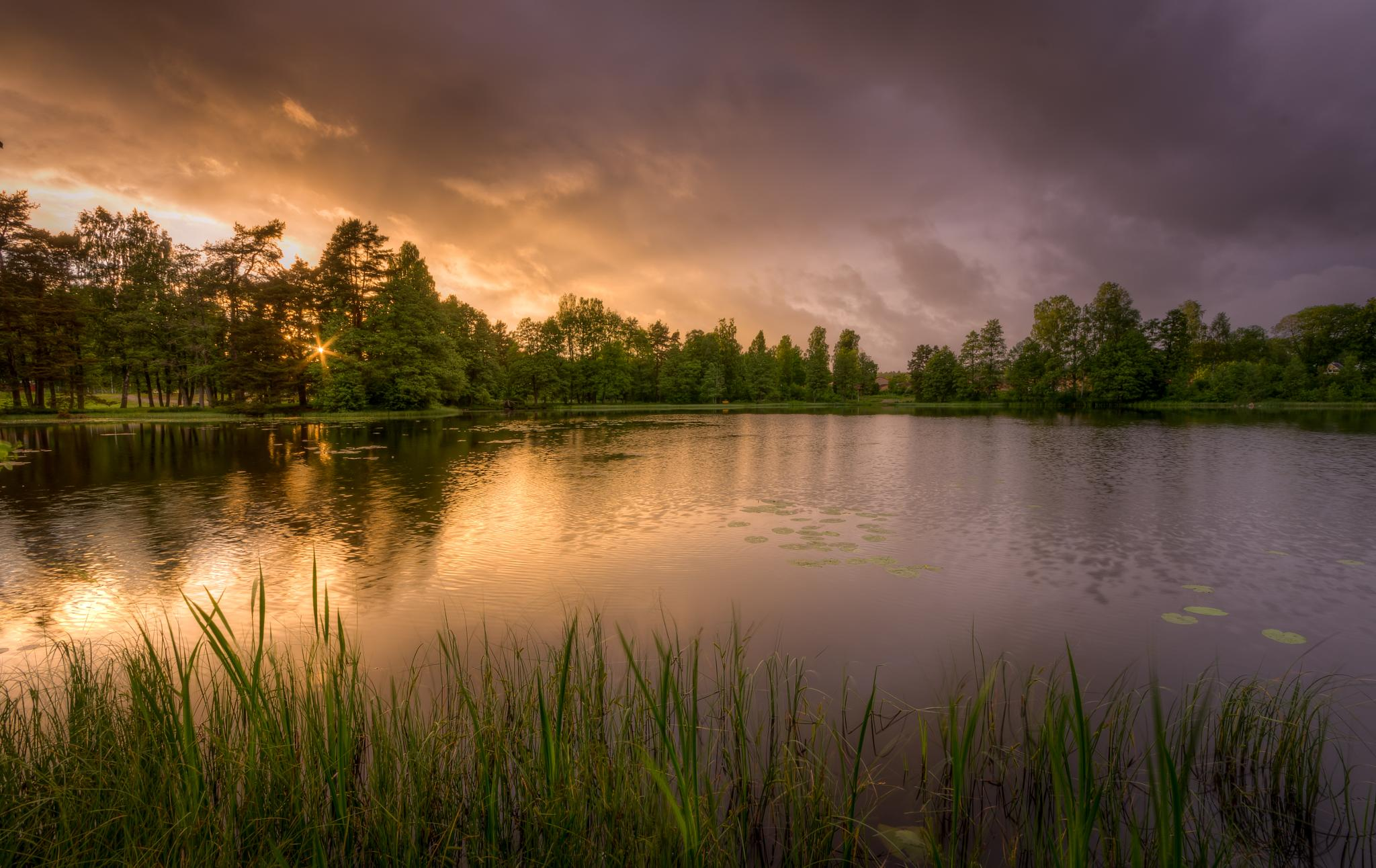 Beautiful Sunset  by Oliver Simic
