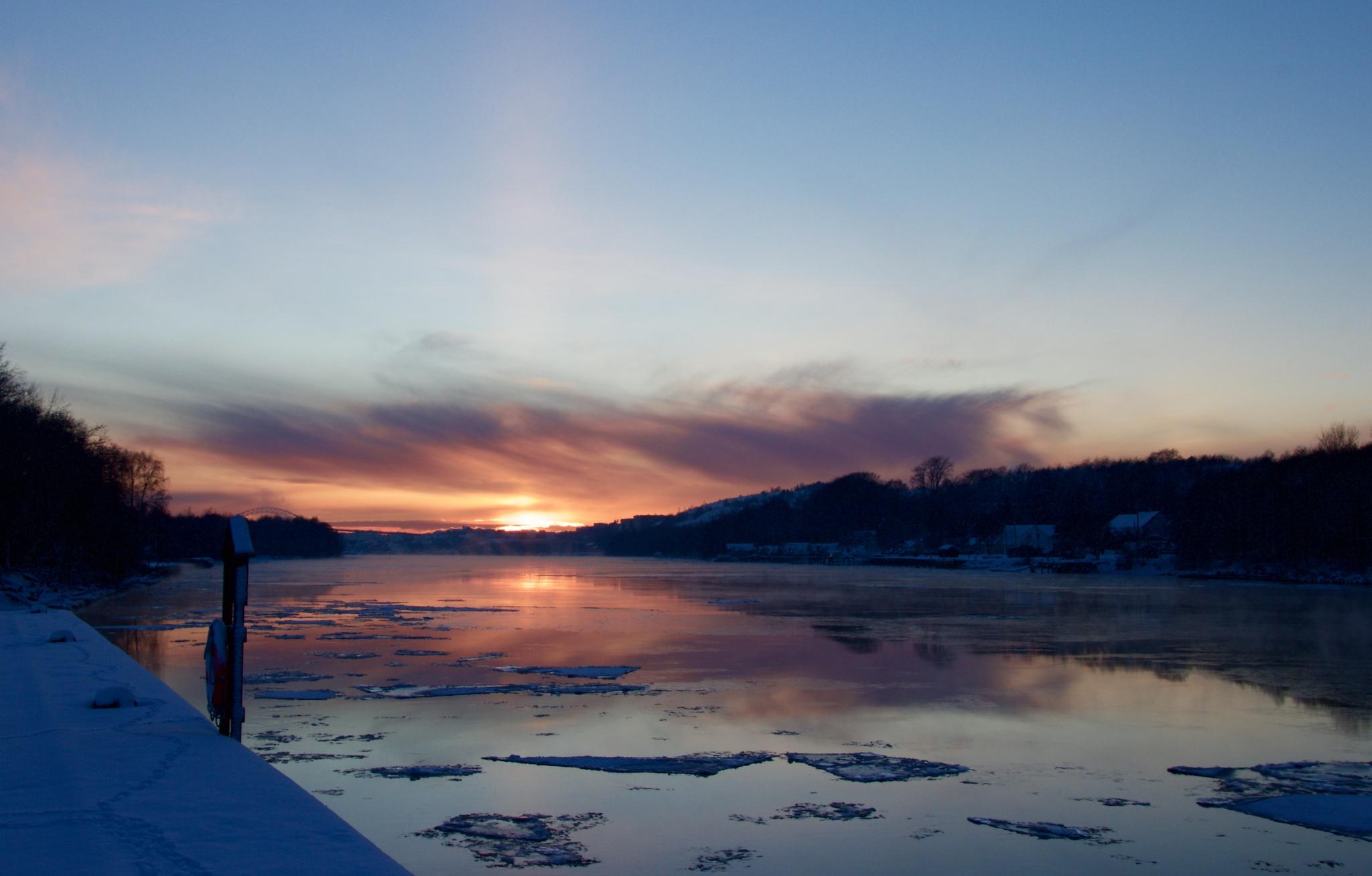 another stunning sunset by Cecilie Hansteensen