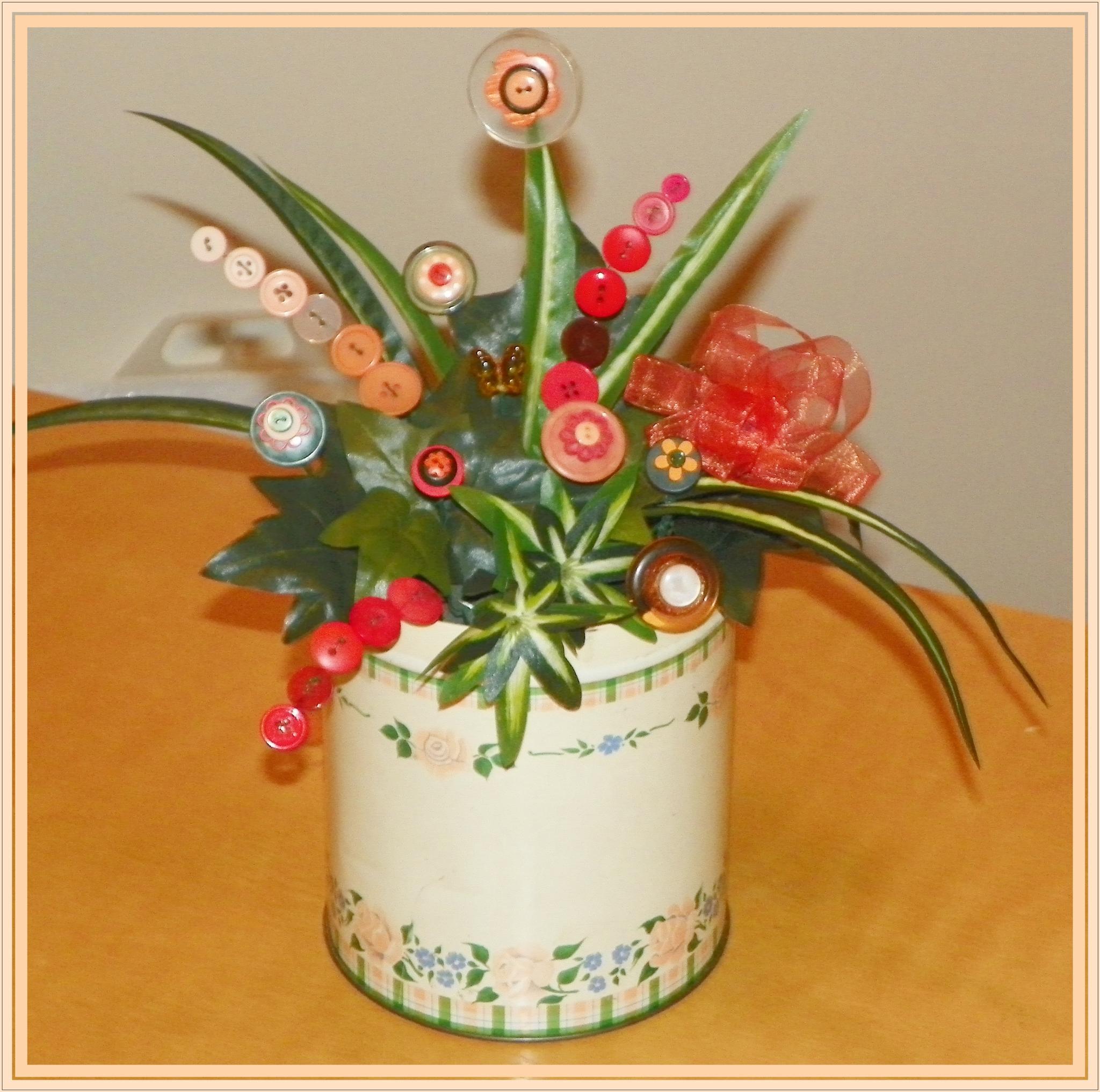 Button Bouquet by ssmjdd