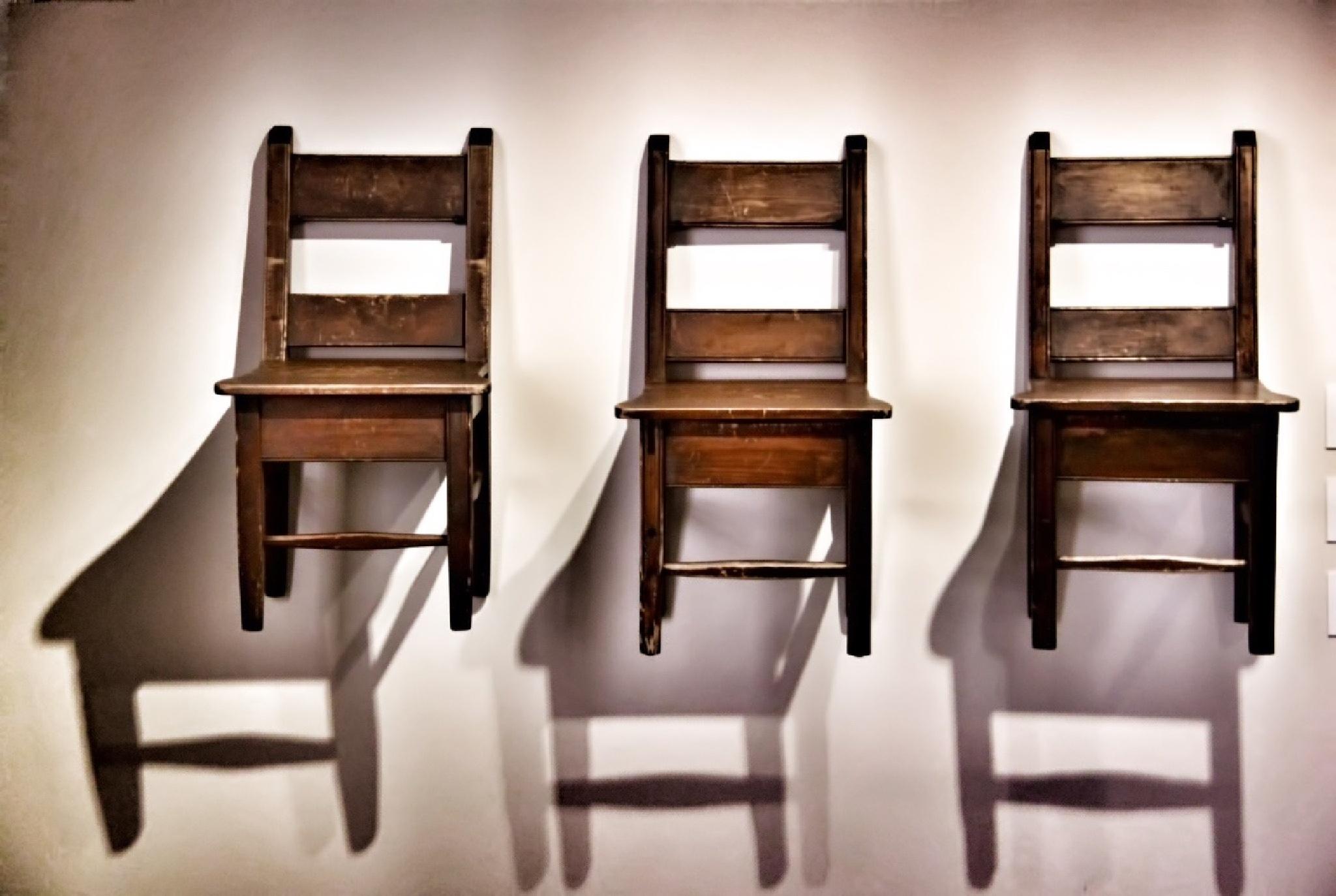 THREE CHAIRS by jody frankel