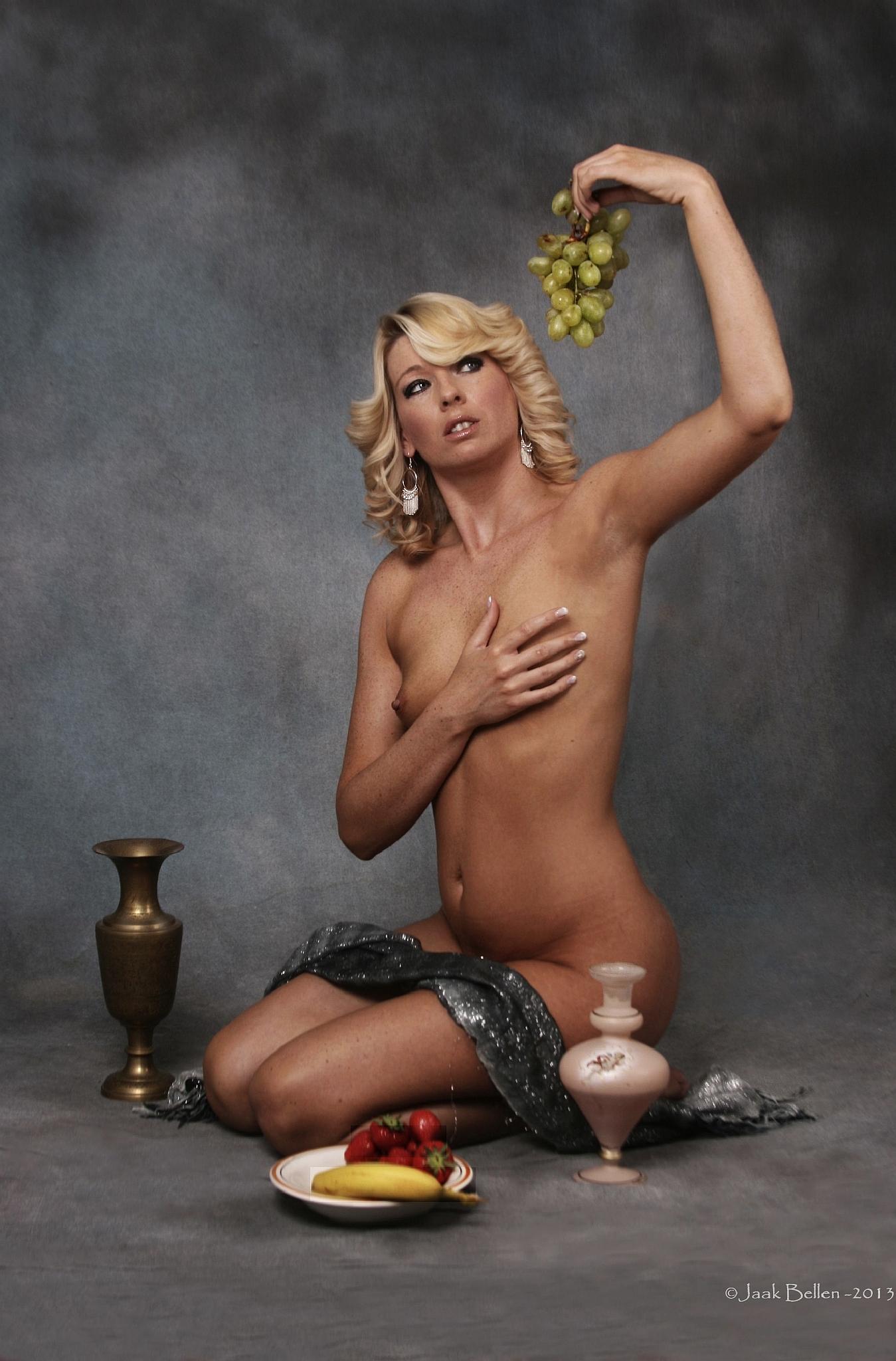 The grapes by Jaak BELLEN