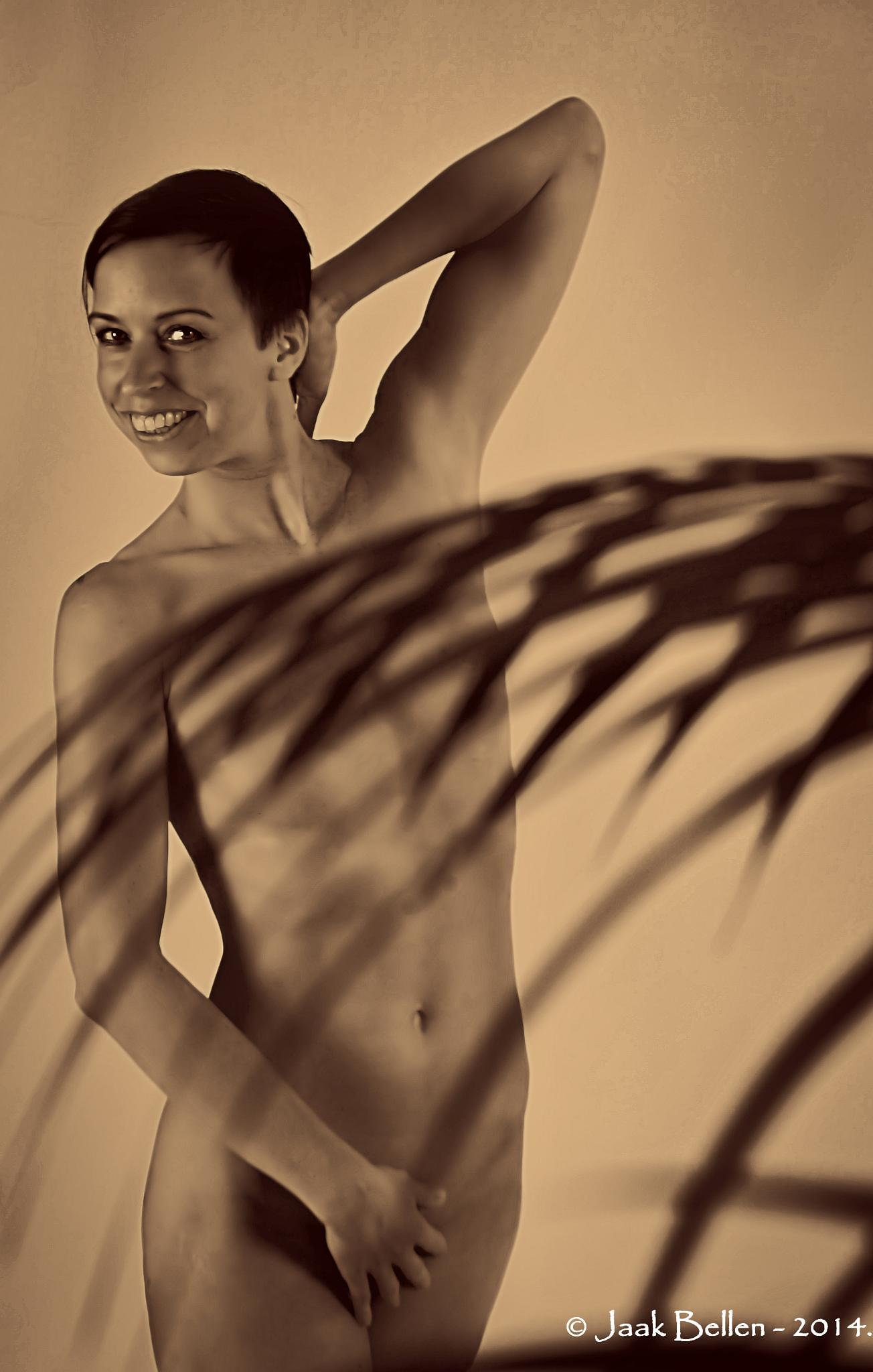 Covered nude by Jaak BELLEN