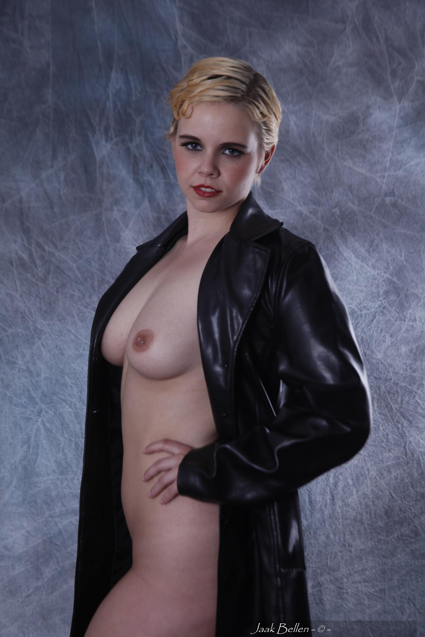 The black coat..... by Jaak BELLEN