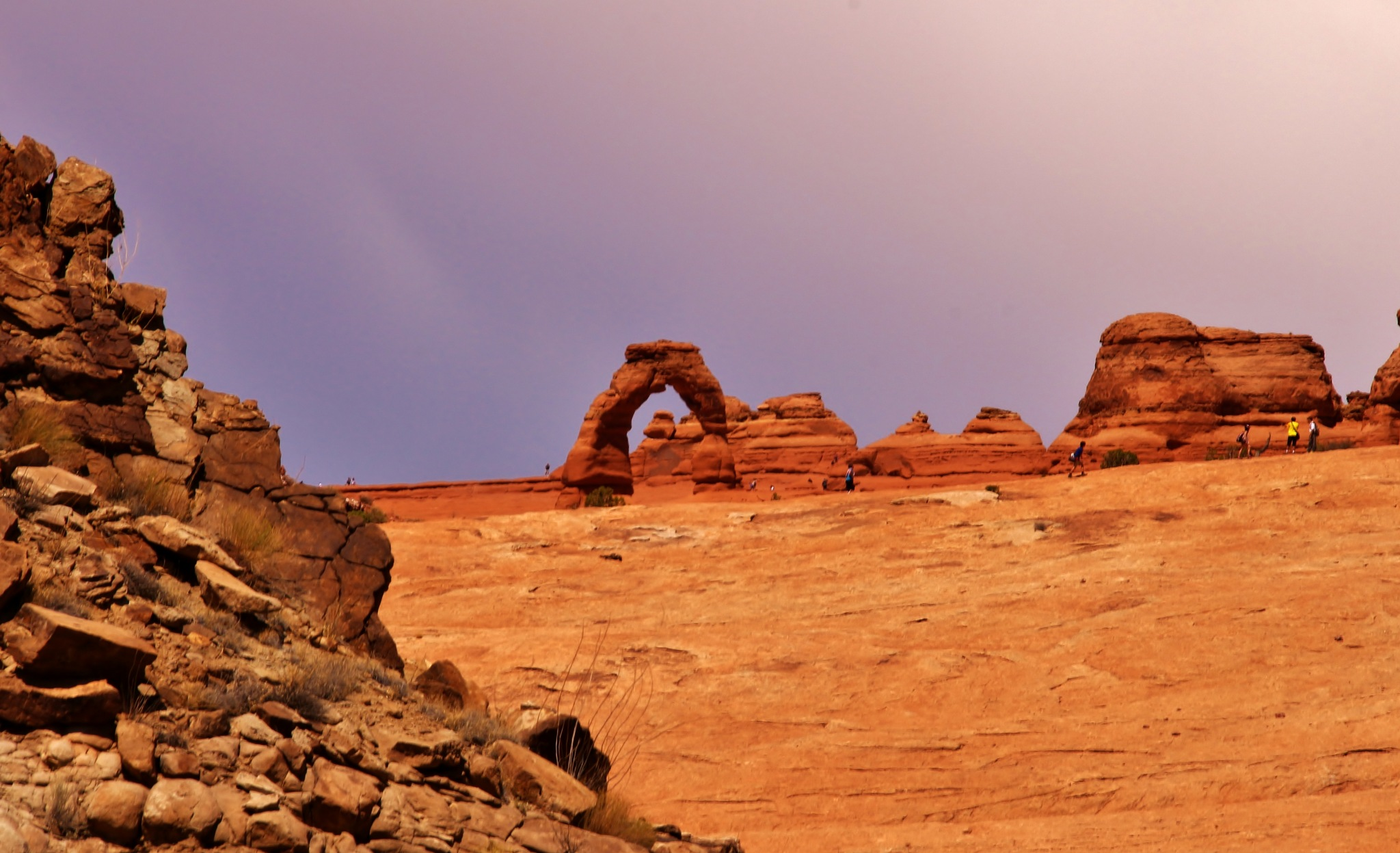 Distant Delicate Arch by yehaa_2001