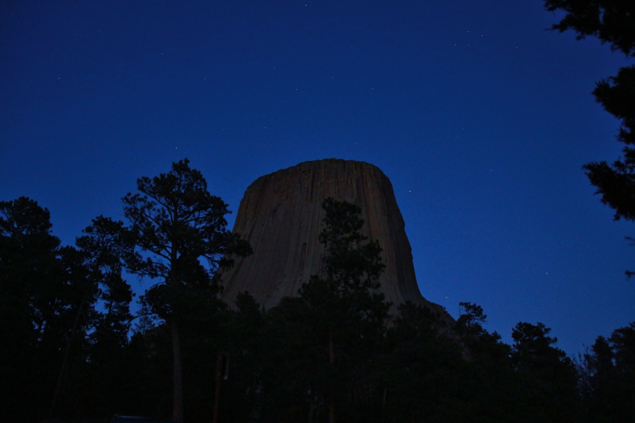 Devils Tower at Dusk by yehaa_2001