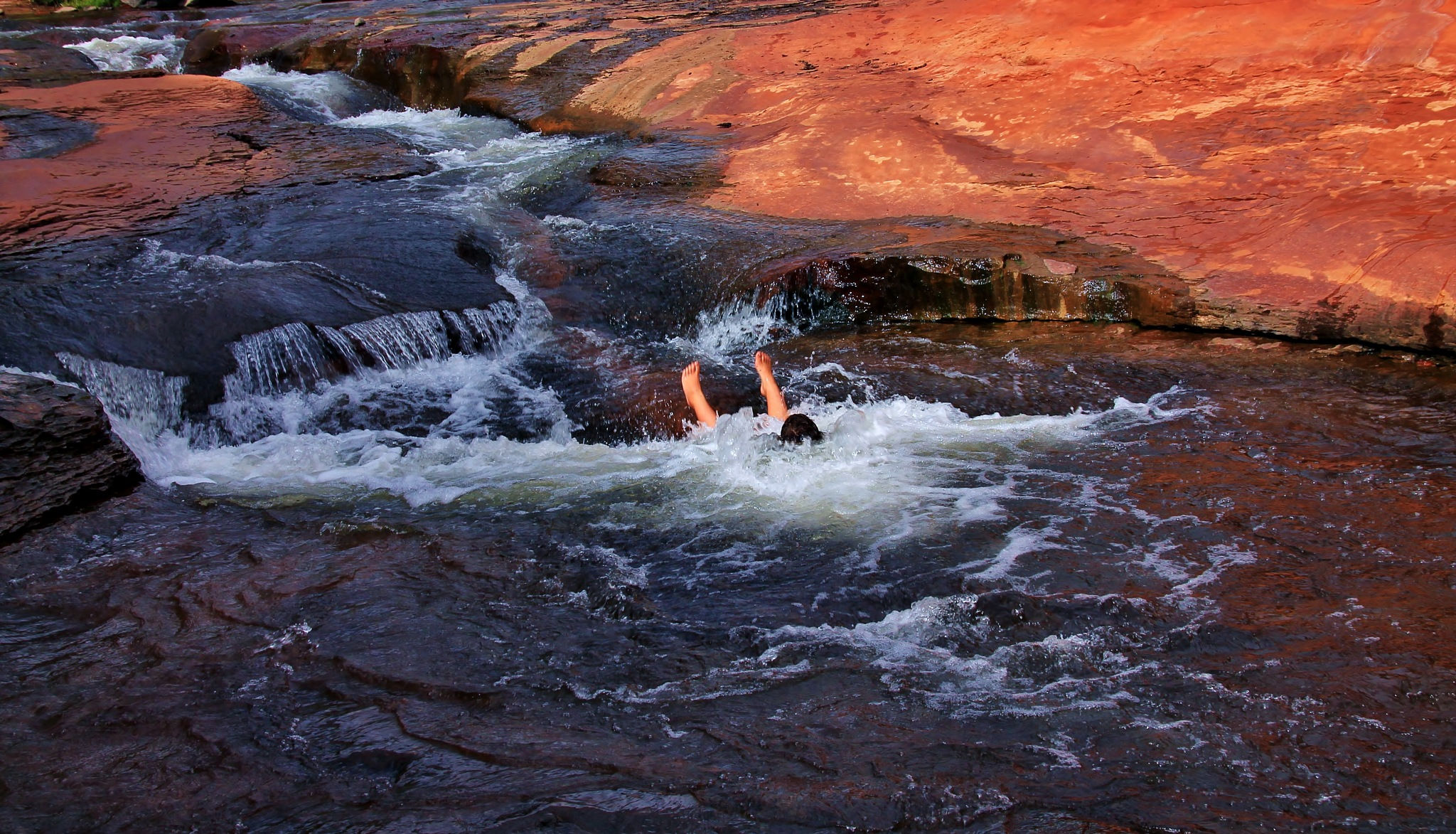 Slide Rock Splash by yehaa_2001