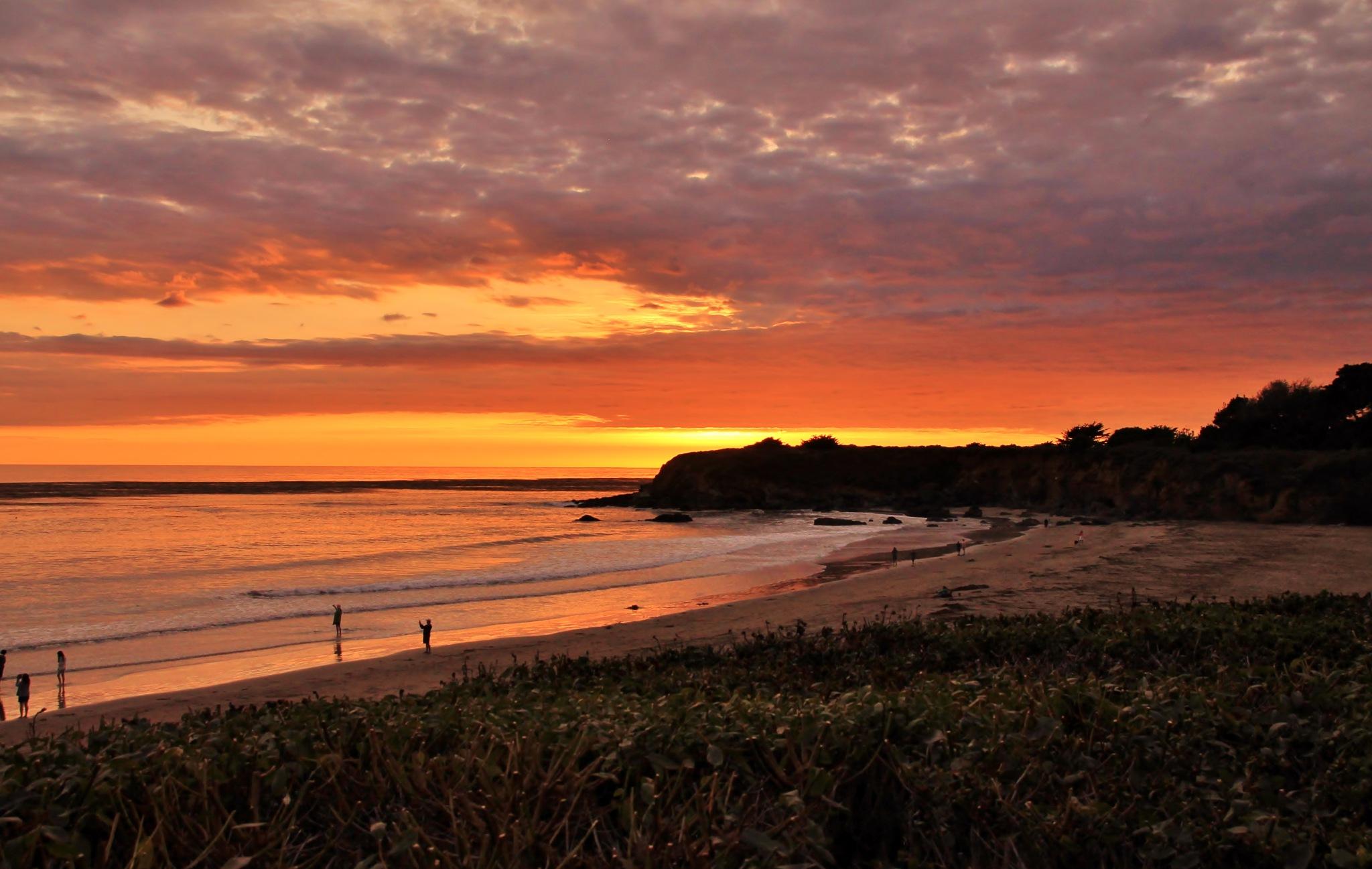 Cali Sunset San Simeon by yehaa_2001