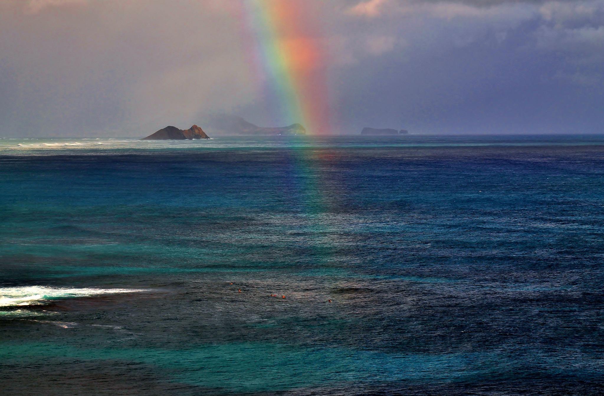 Rainbow in Paradise by yehaa_2001