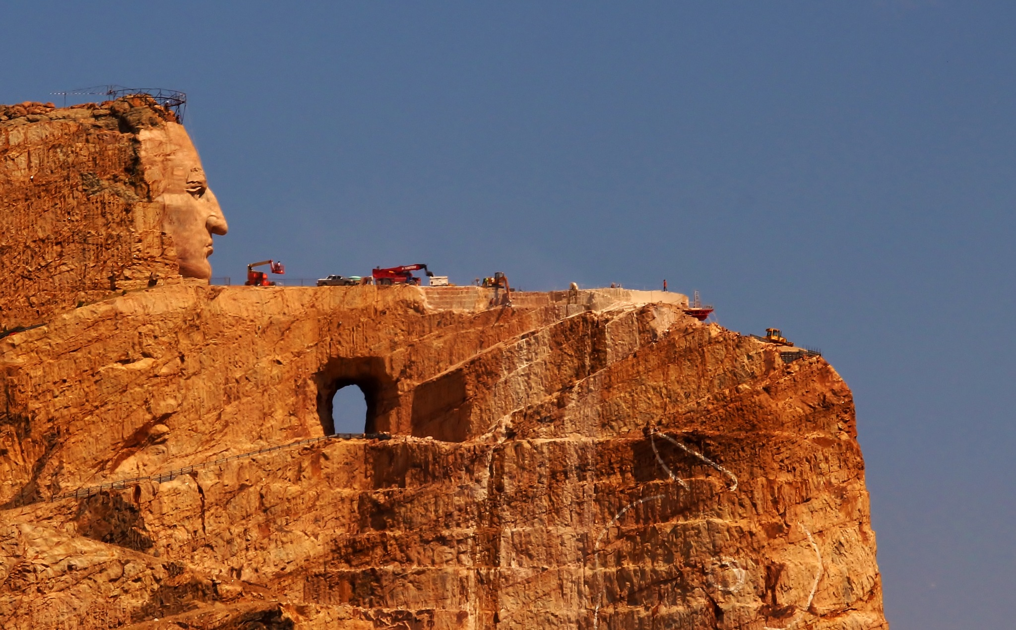 Crazy Horse Monument by yehaa_2001