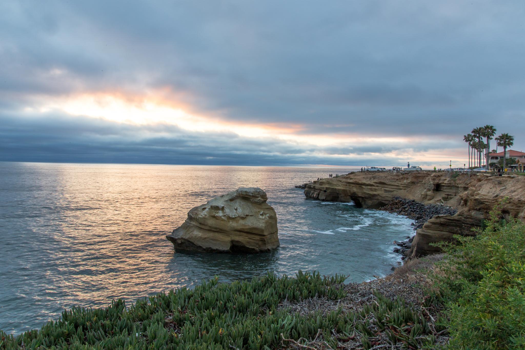 San Diego Sunset - Cliffs by Greg H