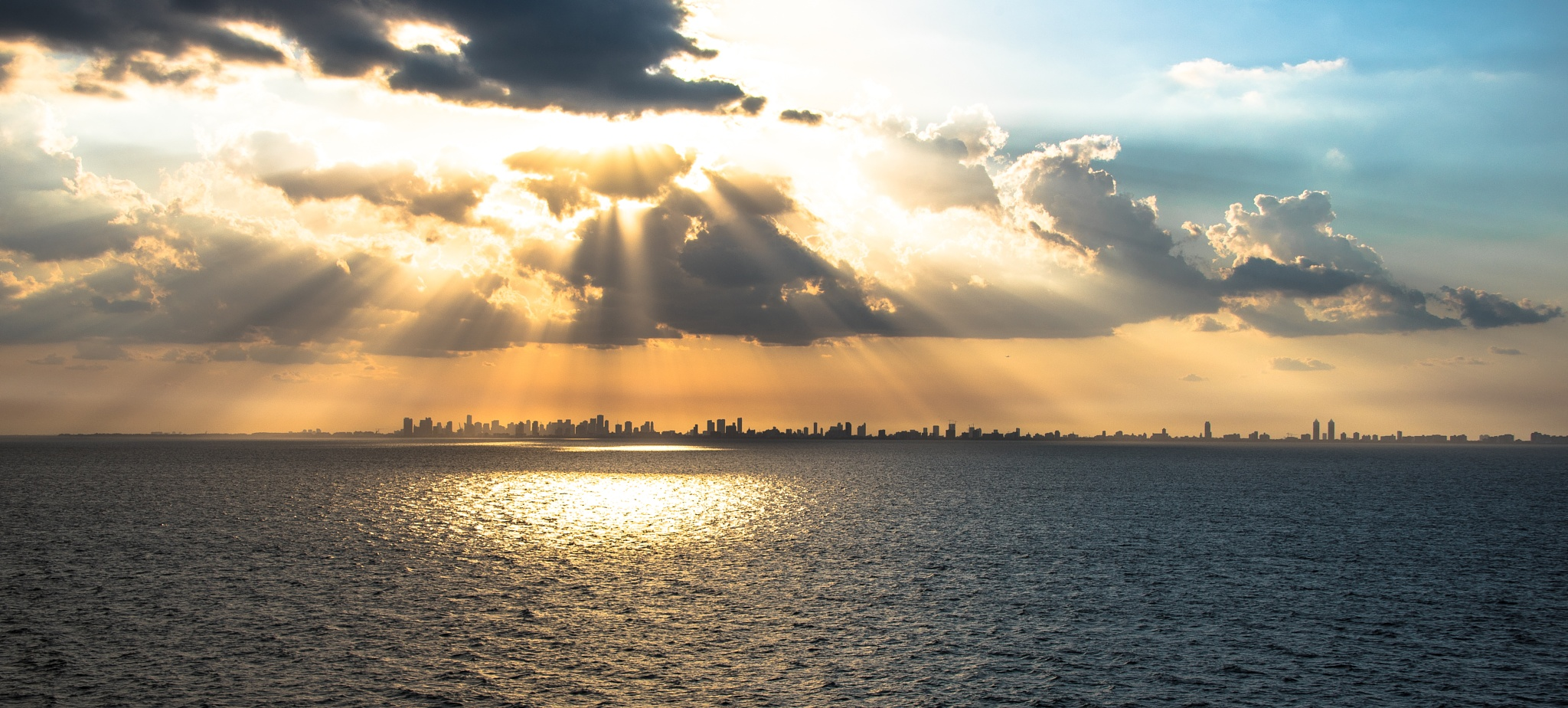 Miami Sunset by SAFIRE PHOTO