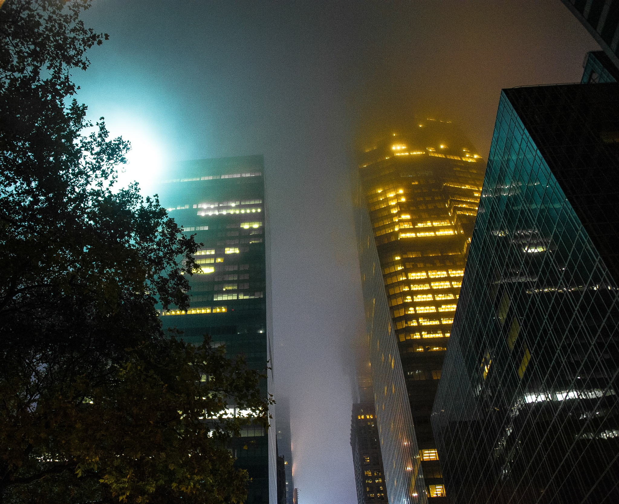 Mid Town Mist by SAFIRE PHOTO
