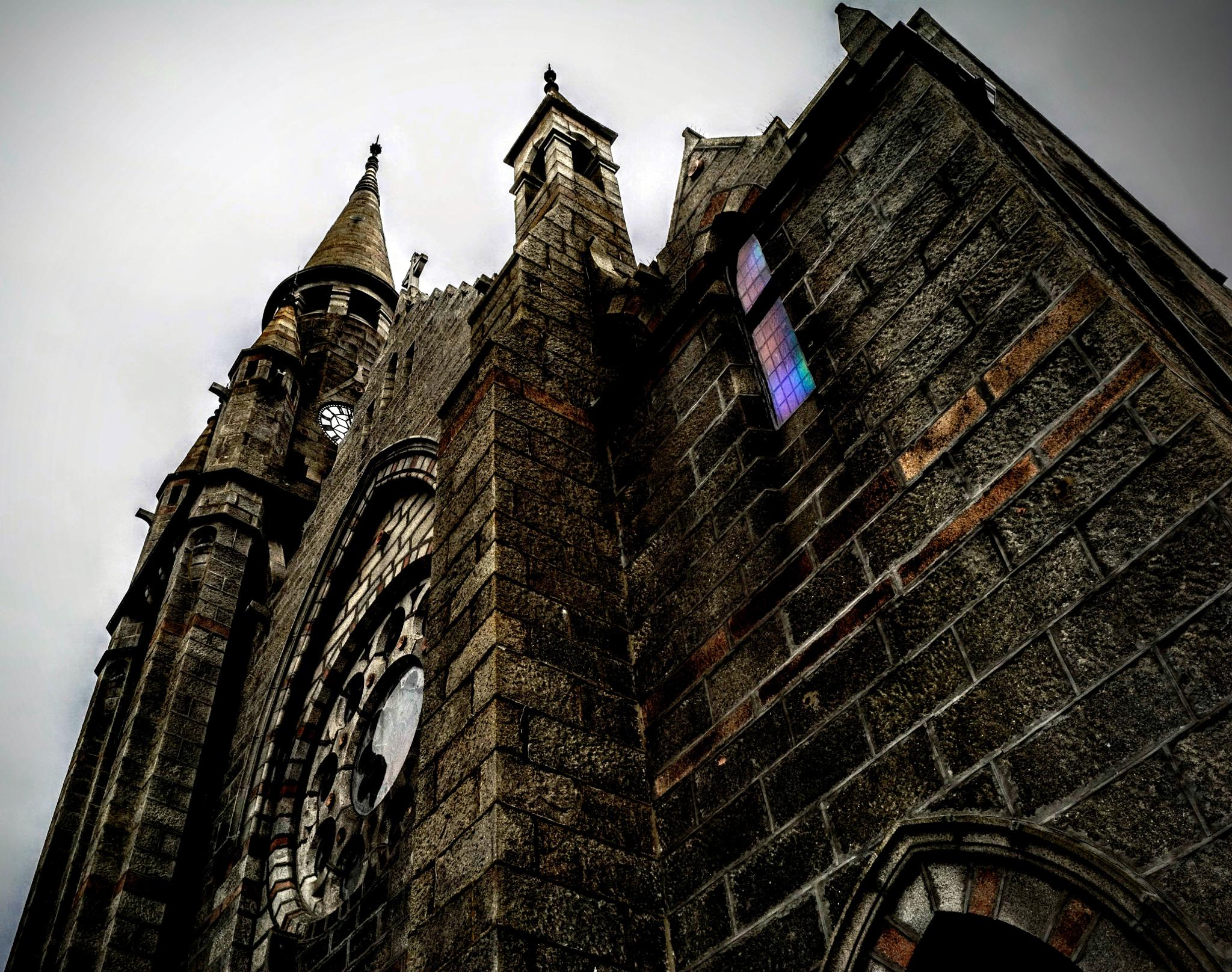 Photo in Architecture #kirk #towers #masonry