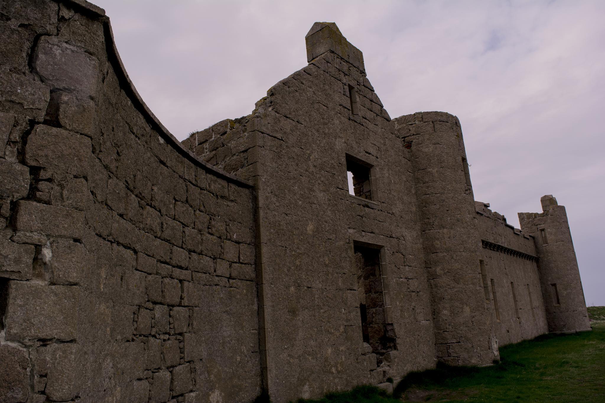 Slains Castle by ED McIntosh