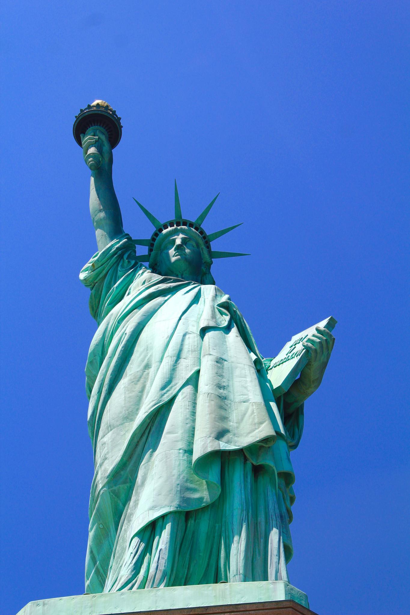 Statute of Liberty by Snickandmephotography