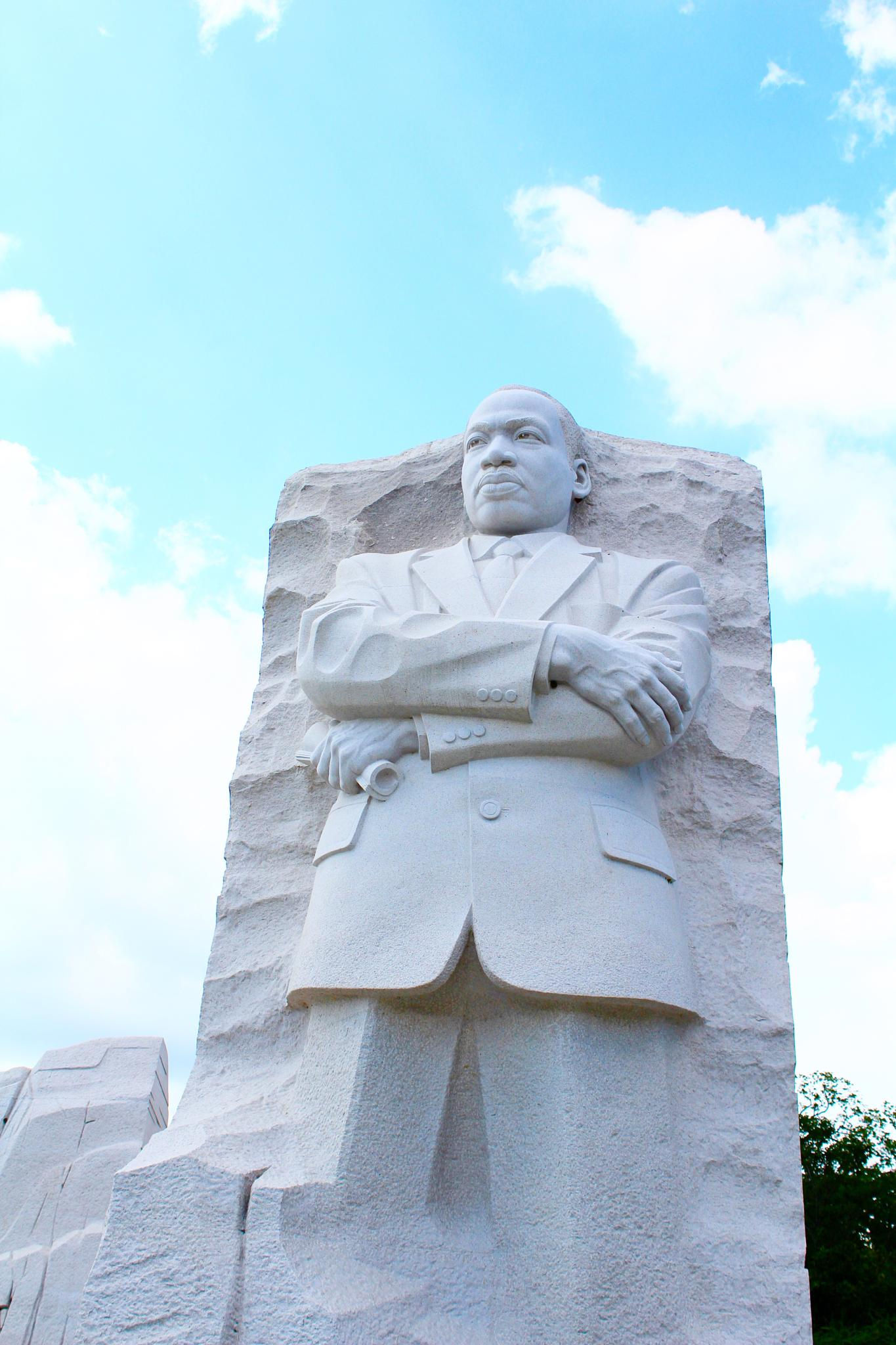 Martin Luther King Memorial by Snickandmephotography