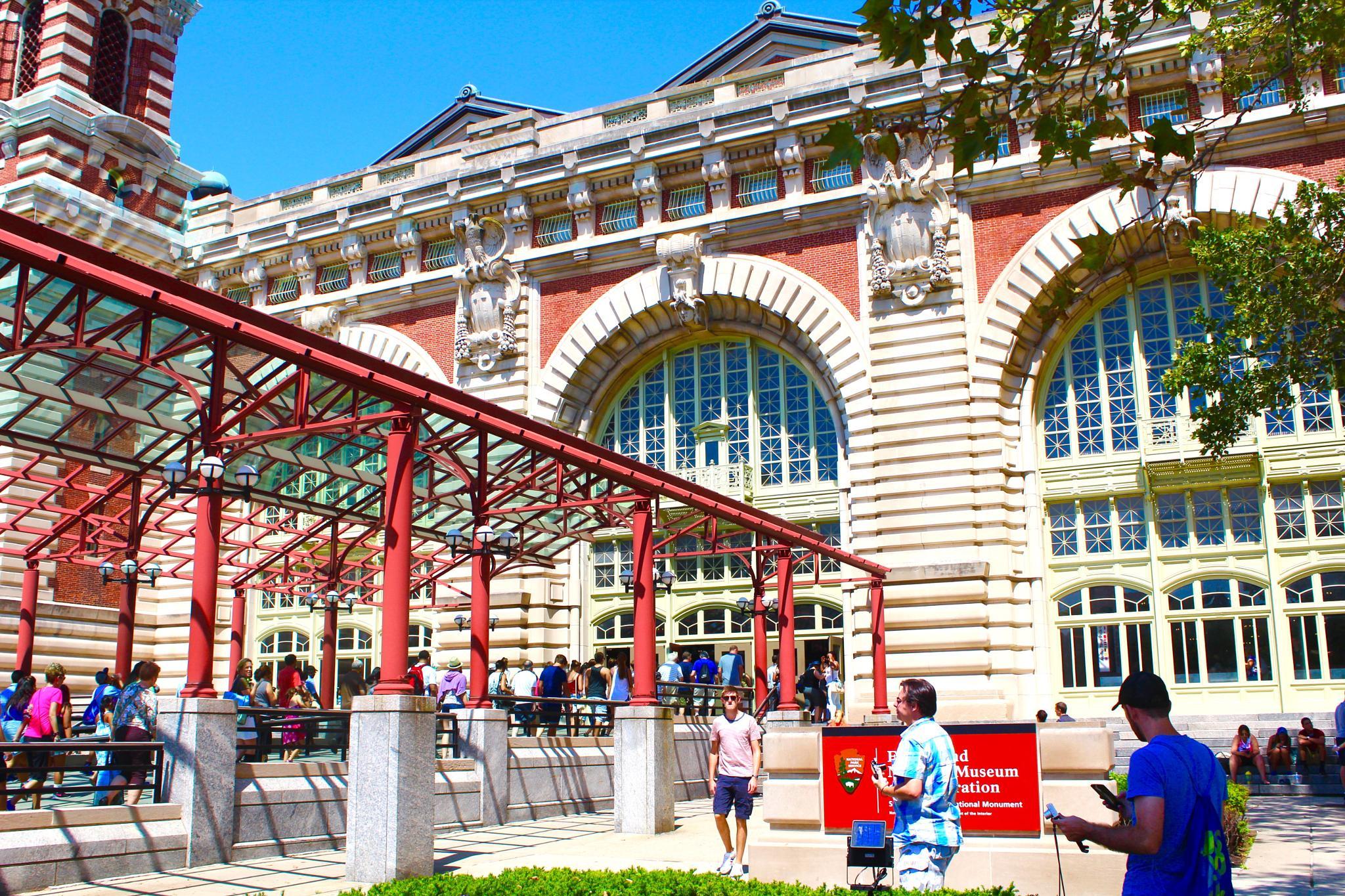 Ellis Island by Snickandmephotography