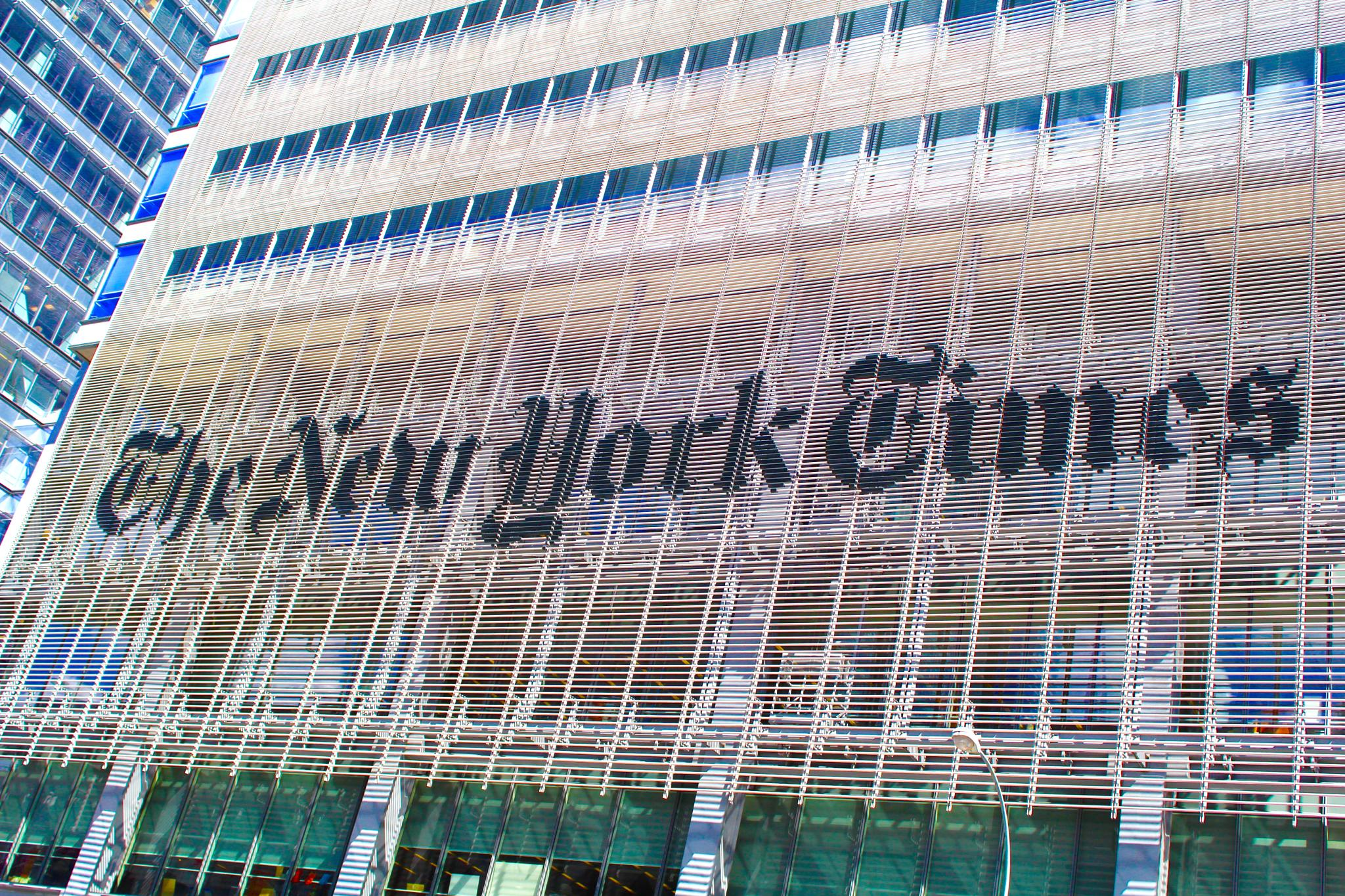 New York Times  by Snickandmephotography