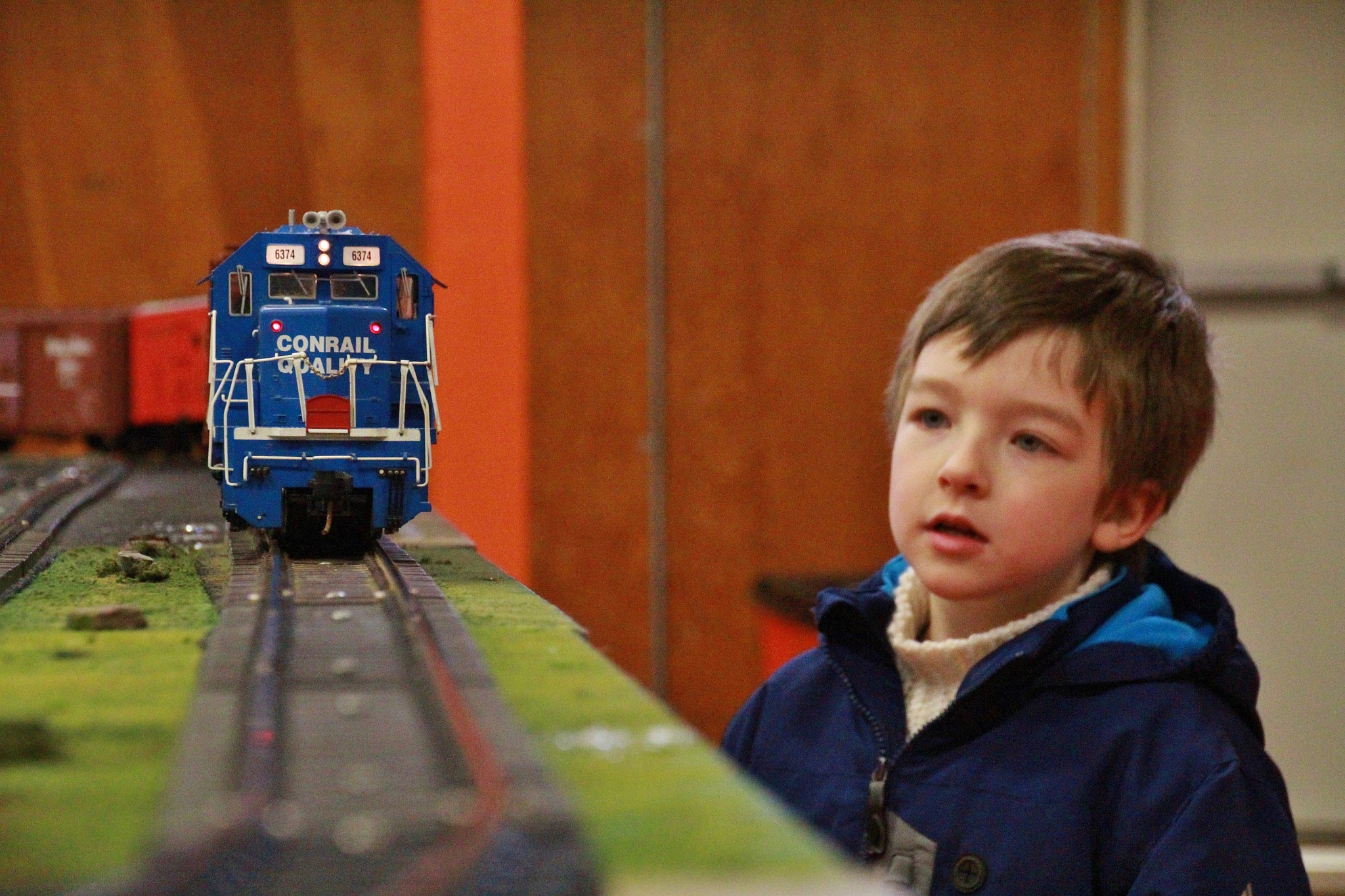 Young Rail Fan by brandleya