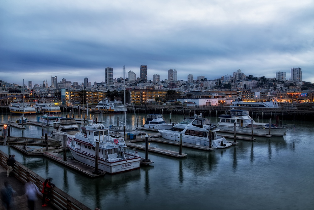 Evening at the Wharf by JFitePhoto