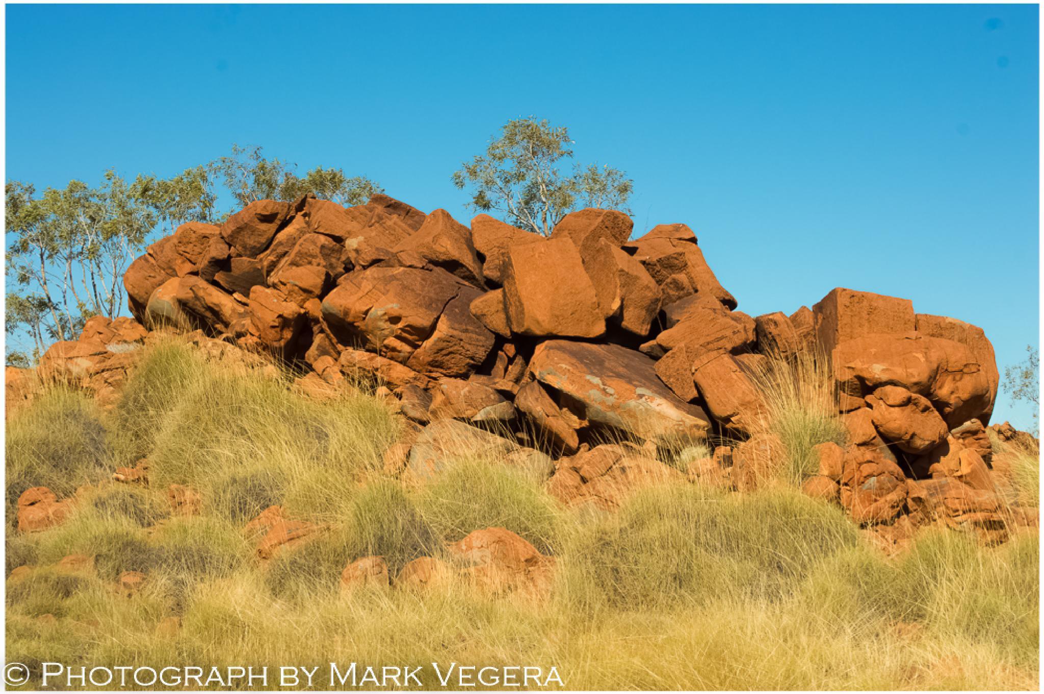 Red Rocks  by Mark Vegera