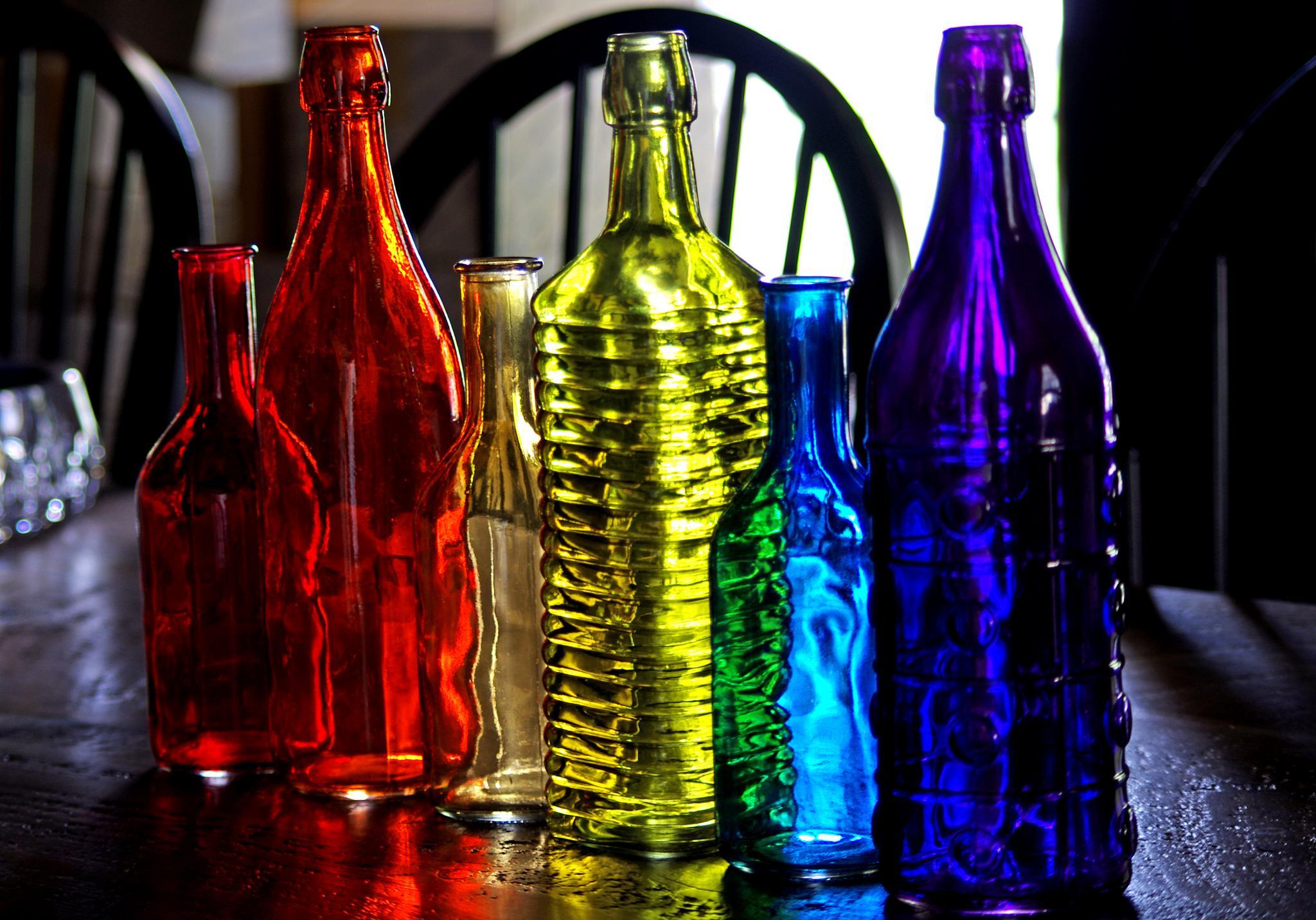 Photo in Still Life #bottles #glass