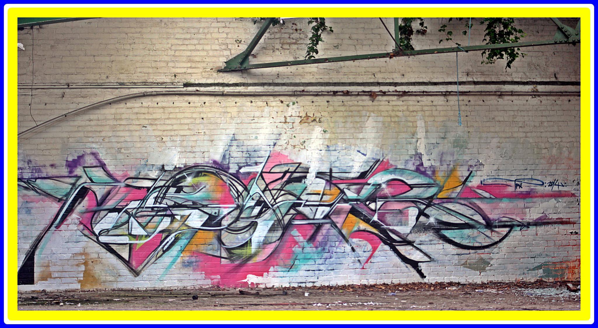 graffiti by gavin holloway