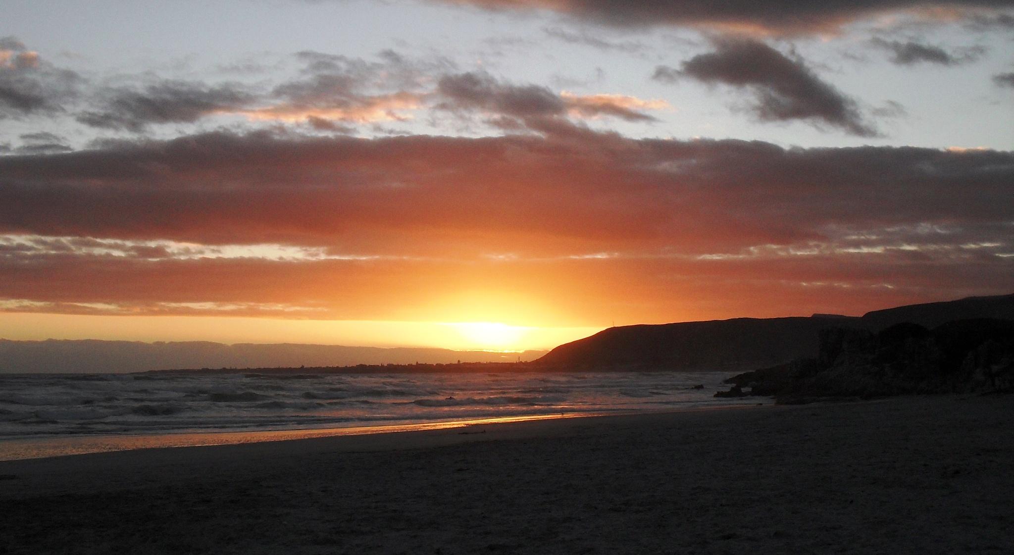 West Coast sunset. by Japie van der Berg