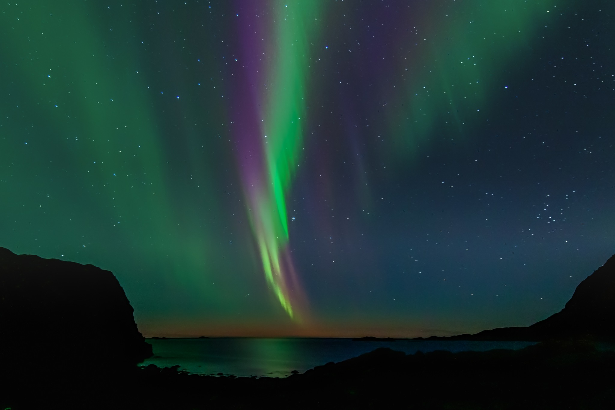 There were a lot of colors in the evening's northern lights by harald.larsen