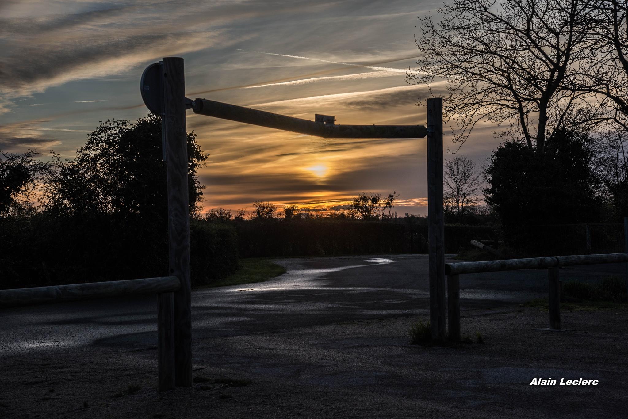 coucher de soleil maison de la nature Sallenelles (8221) by leclercalainmail