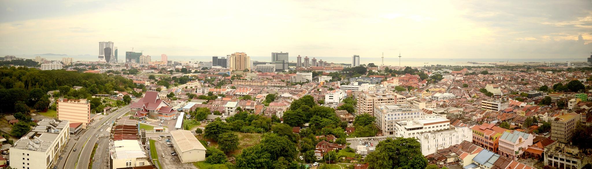 malacca city by wooyuenfoo