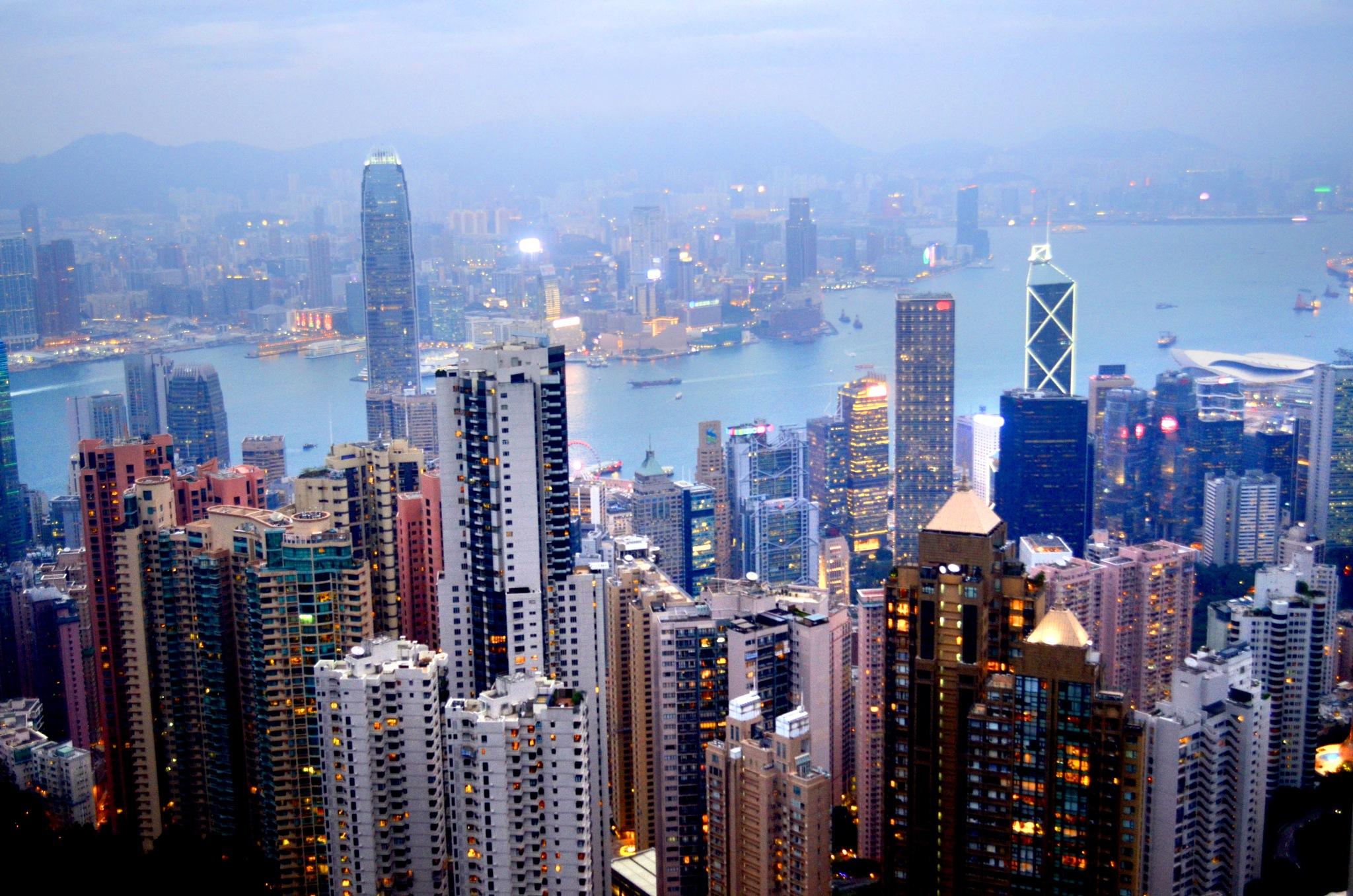 Hong Kong Cityscape by wooyuenfoo