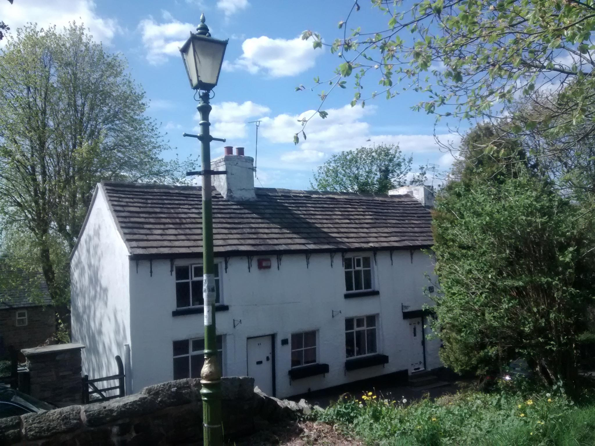 Gibble Gabble Cottage Broadbottom Cheshire UK by dysonjohn64