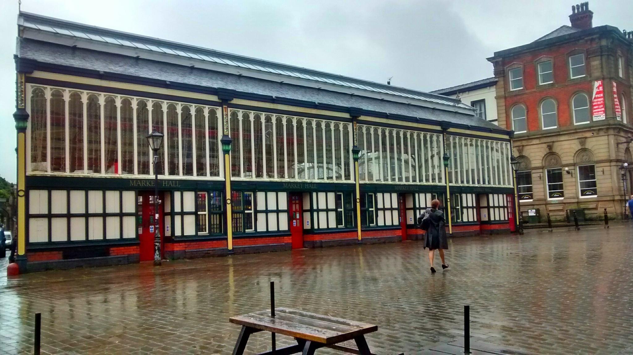 Stockport Market,Stockport Cheshire UK by dysonjohn64