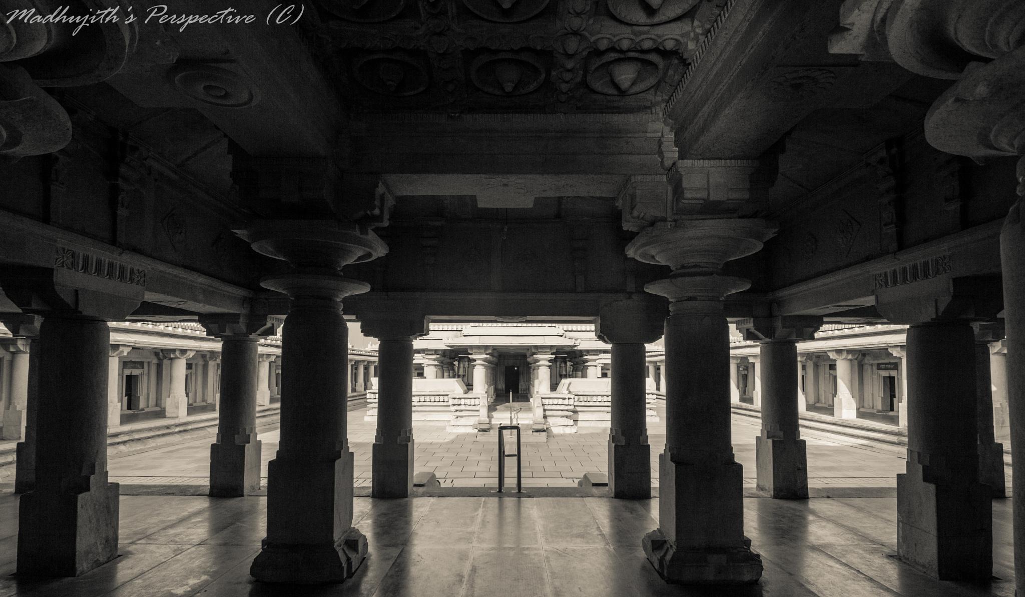 Through the Pillars by madhujith