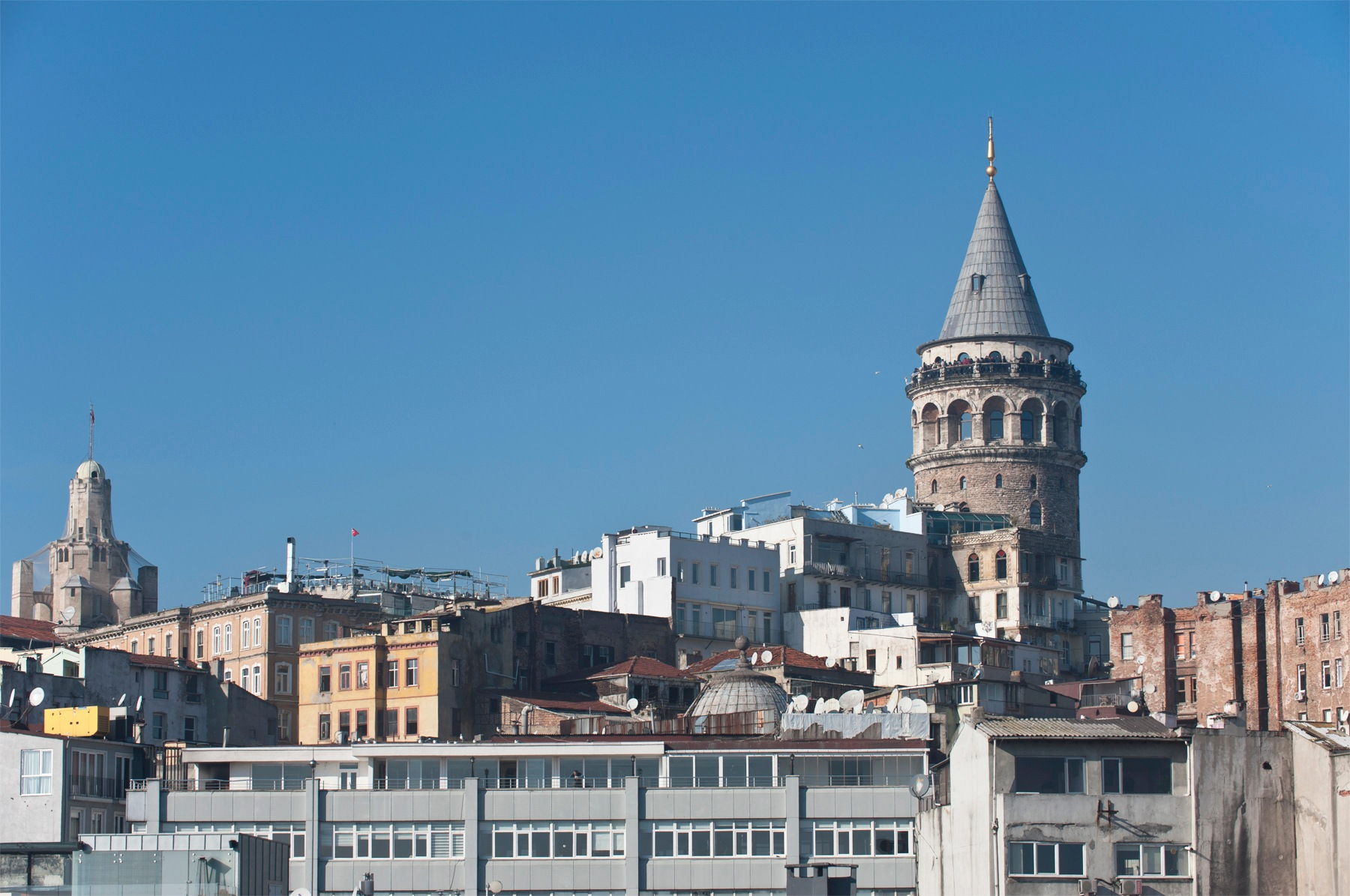 Galata Tower by Mehmet Talu Uray